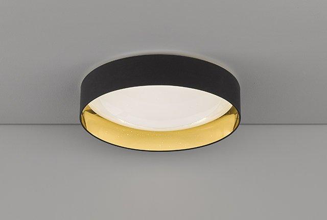Deckenleuchte Sete, Schwarz | Weiß | Gelb