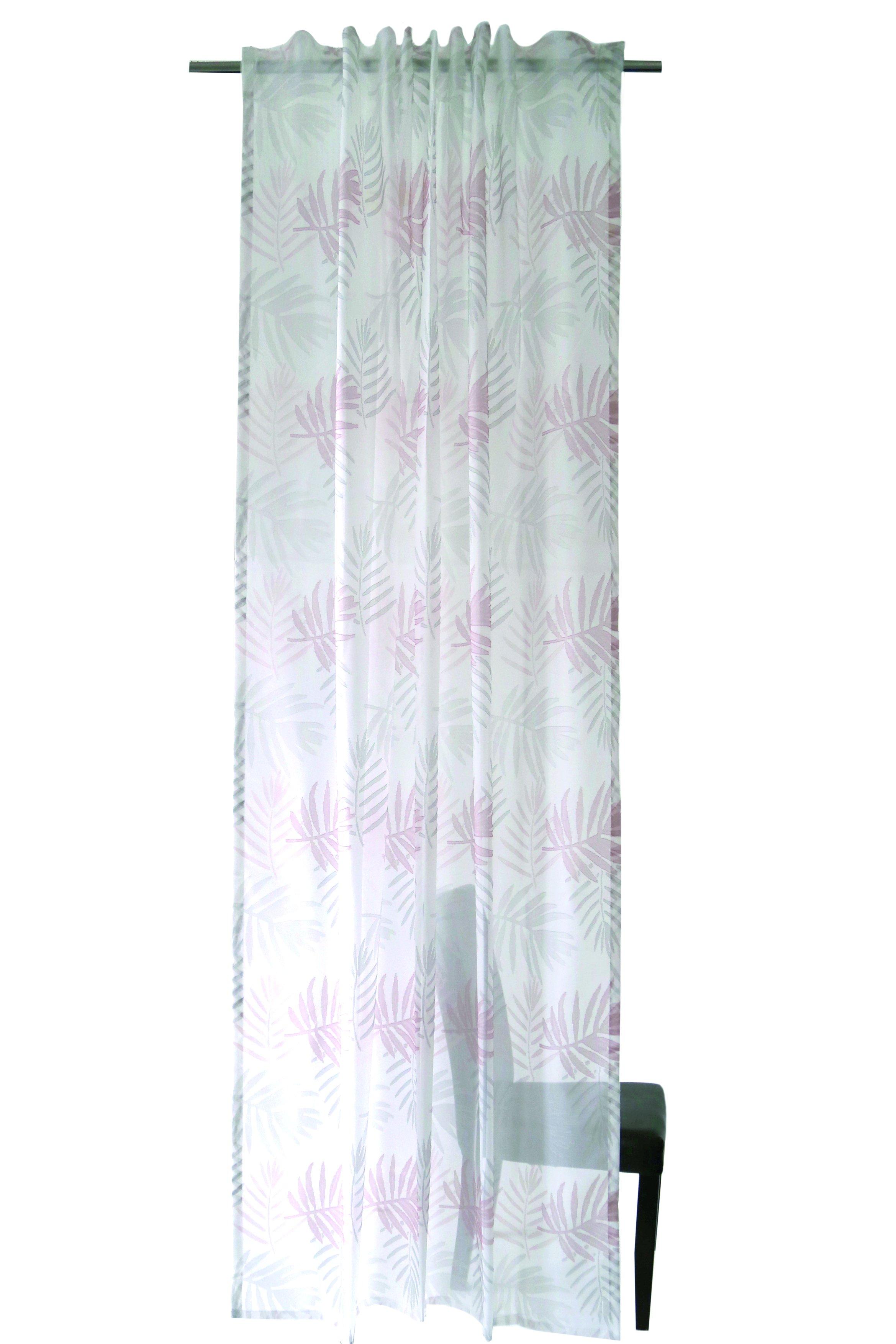Vorhang mit verdeckten Schlaufen