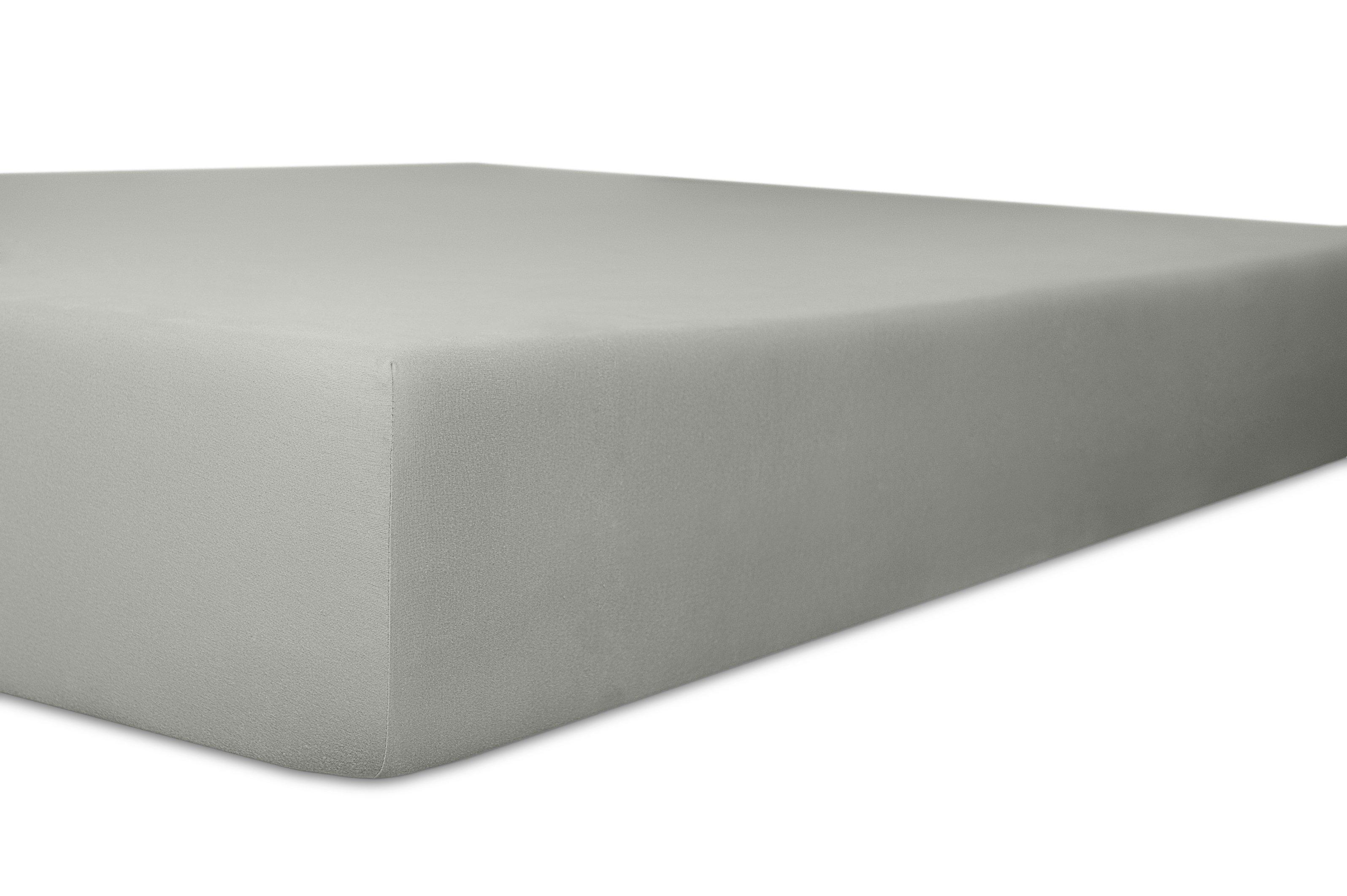 Spannbetttuch Standard schiefer 50% Baumwolle / 45% Modal / 5% Elasthan