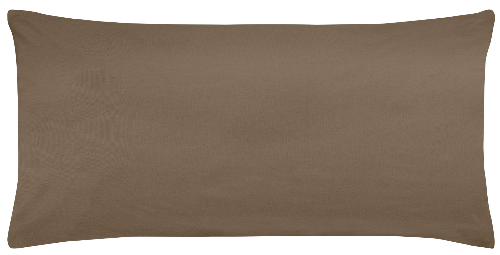 Edel-Zwirn-Jersey toffee B40cm