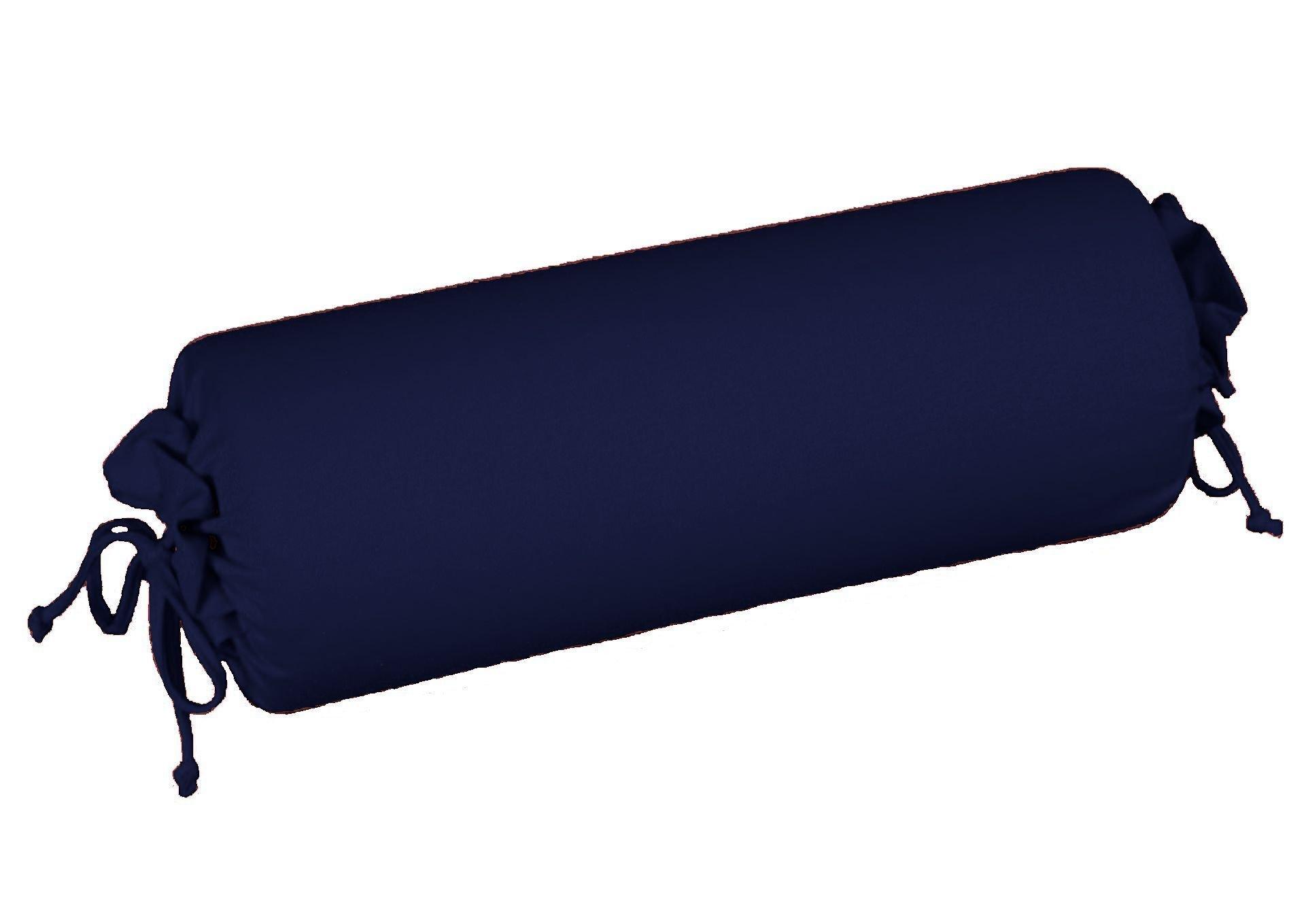 Edel-Zwirn-Jersey marine B15cm