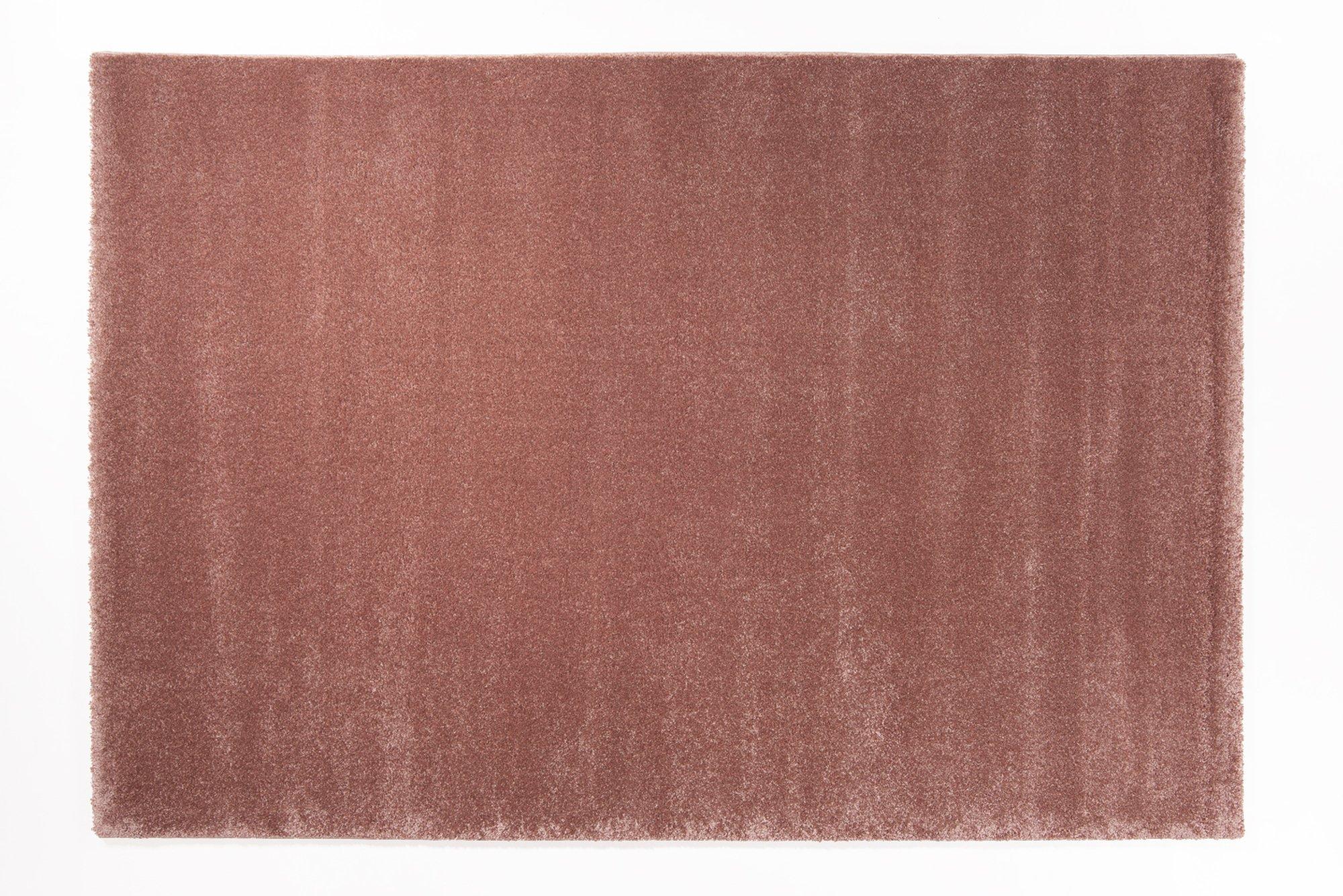 moderner Designer Teppich BELLEVUE rosenholz