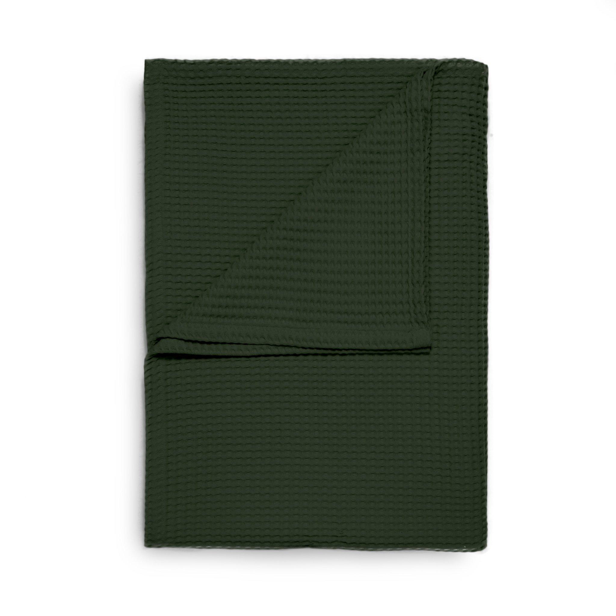 Waffel Plaid 240x260cm Bistro Green