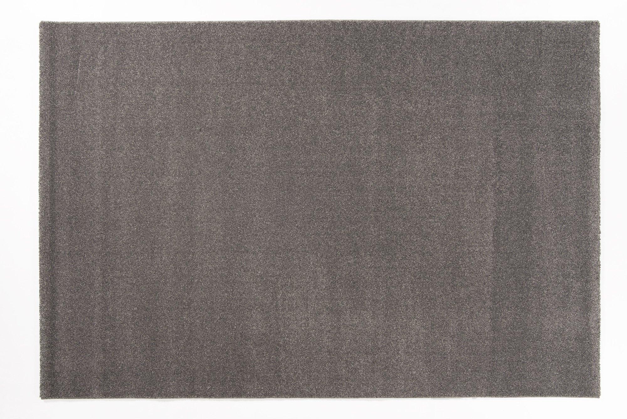moderner Designer Teppich LOUVRE MELANGE anthra