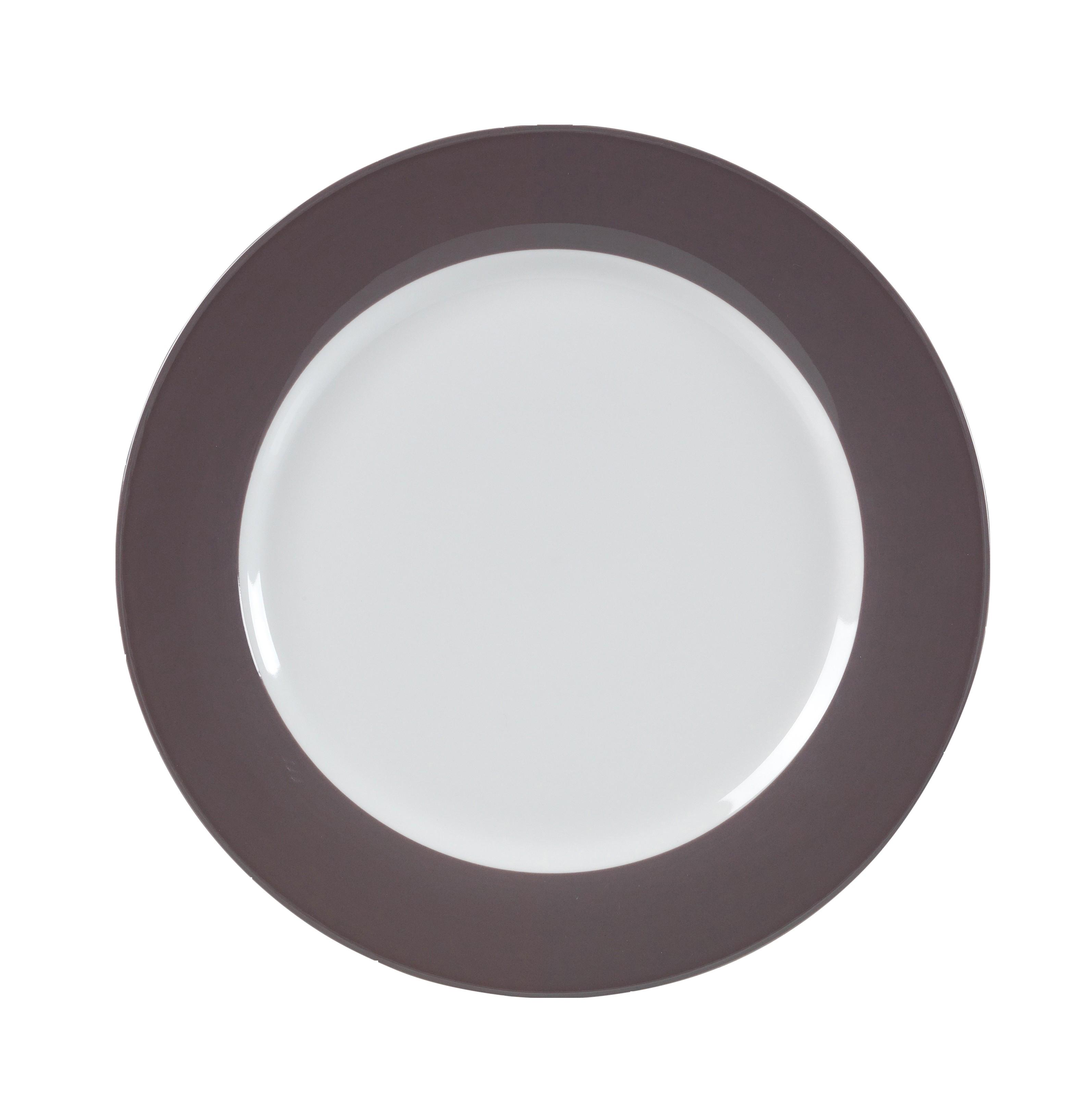 TELLER FLACH 27CM     TOFFEE DOPPIO Standard