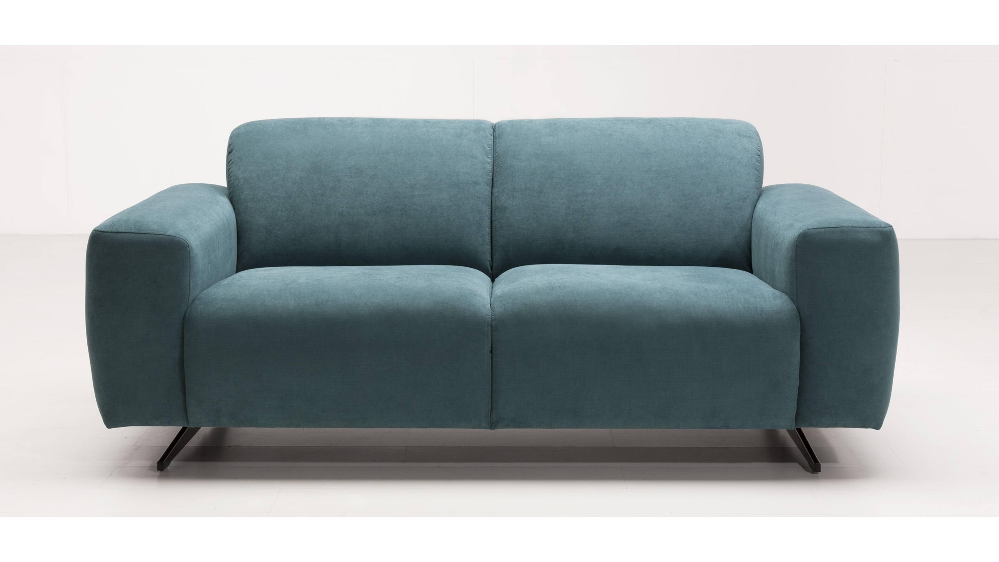 3-Sitzer Matrix 12 Grün Oceanfarbener Bezug Matrix 12 & Metallfüße