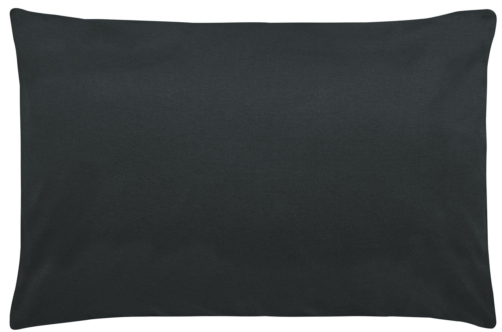 Edel-Zwirn-Jersey onyx B40cm