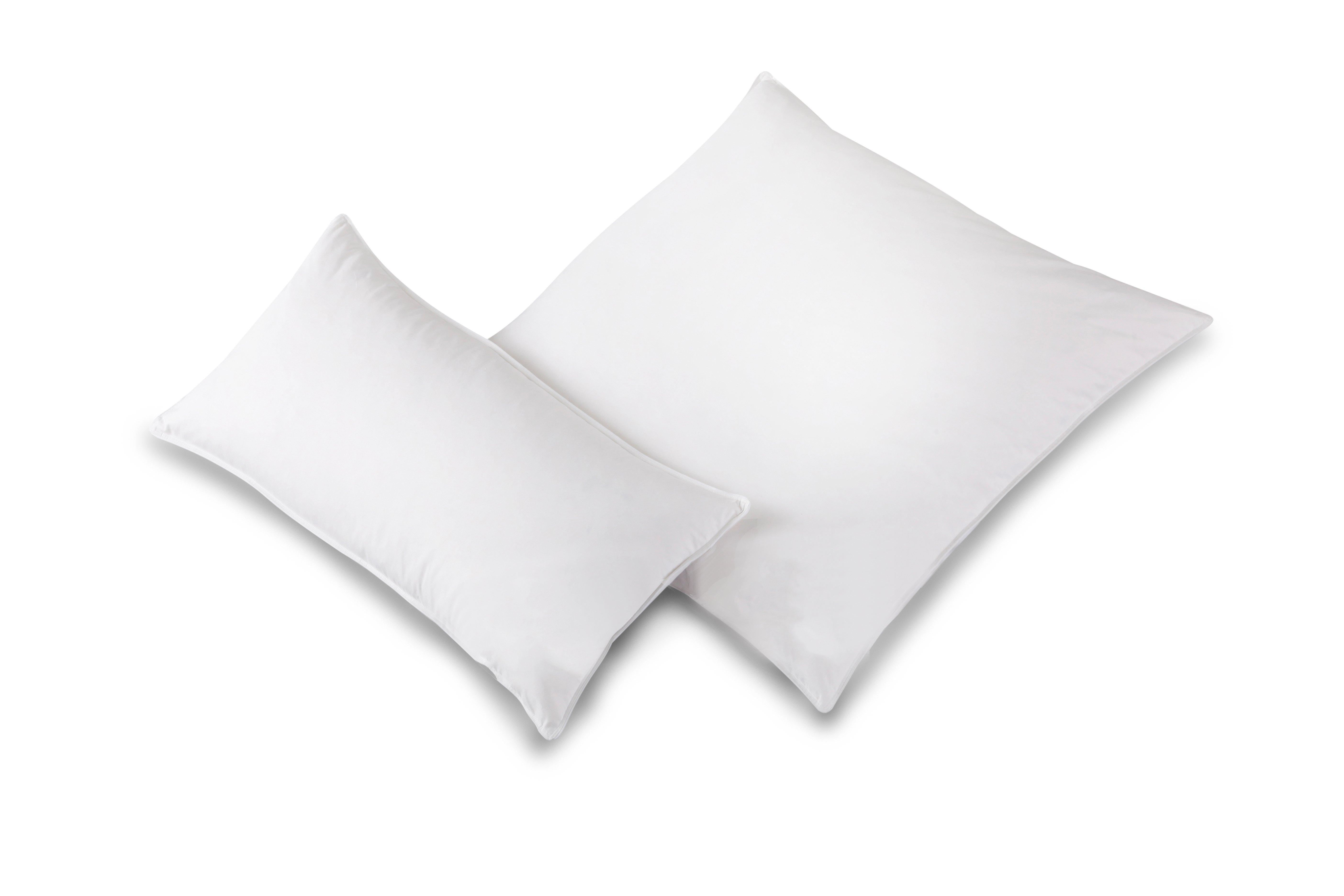 Decke Kopfkissen weiß