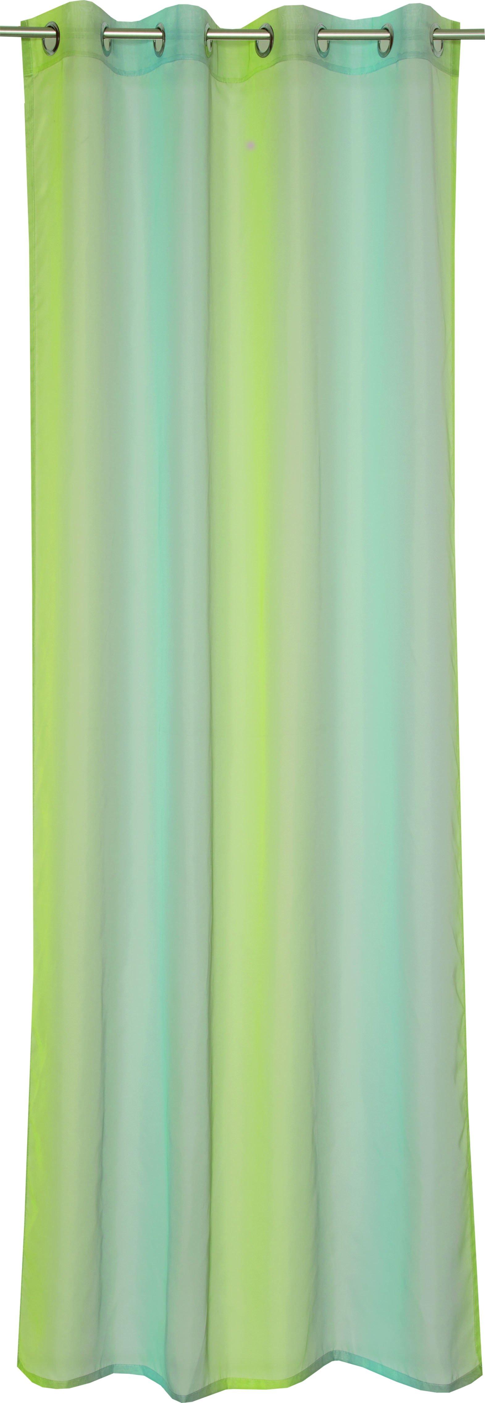 Corso Ösenvorhang 140x250cm,aqua