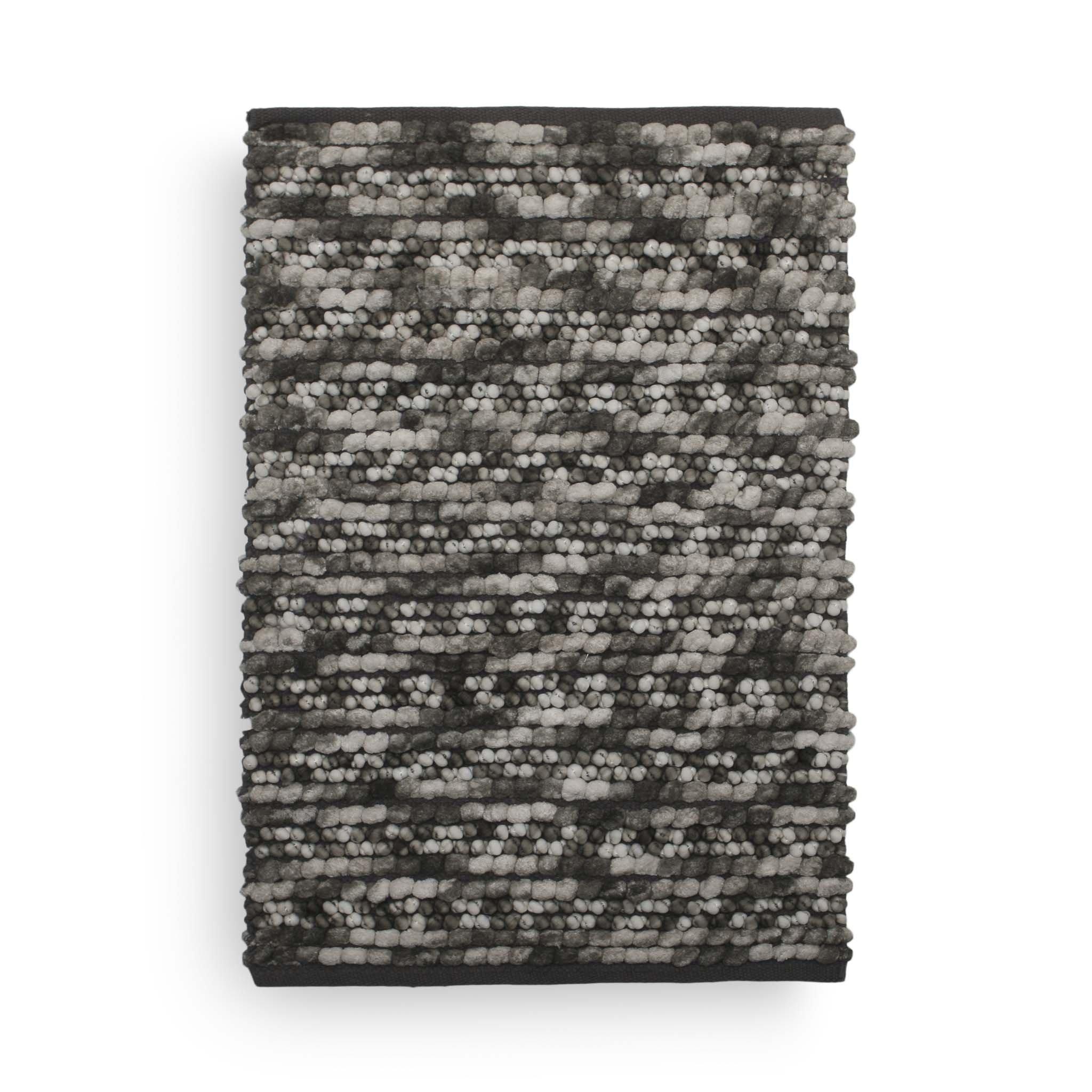 Brenda Badematte 70x120 Dark Grey