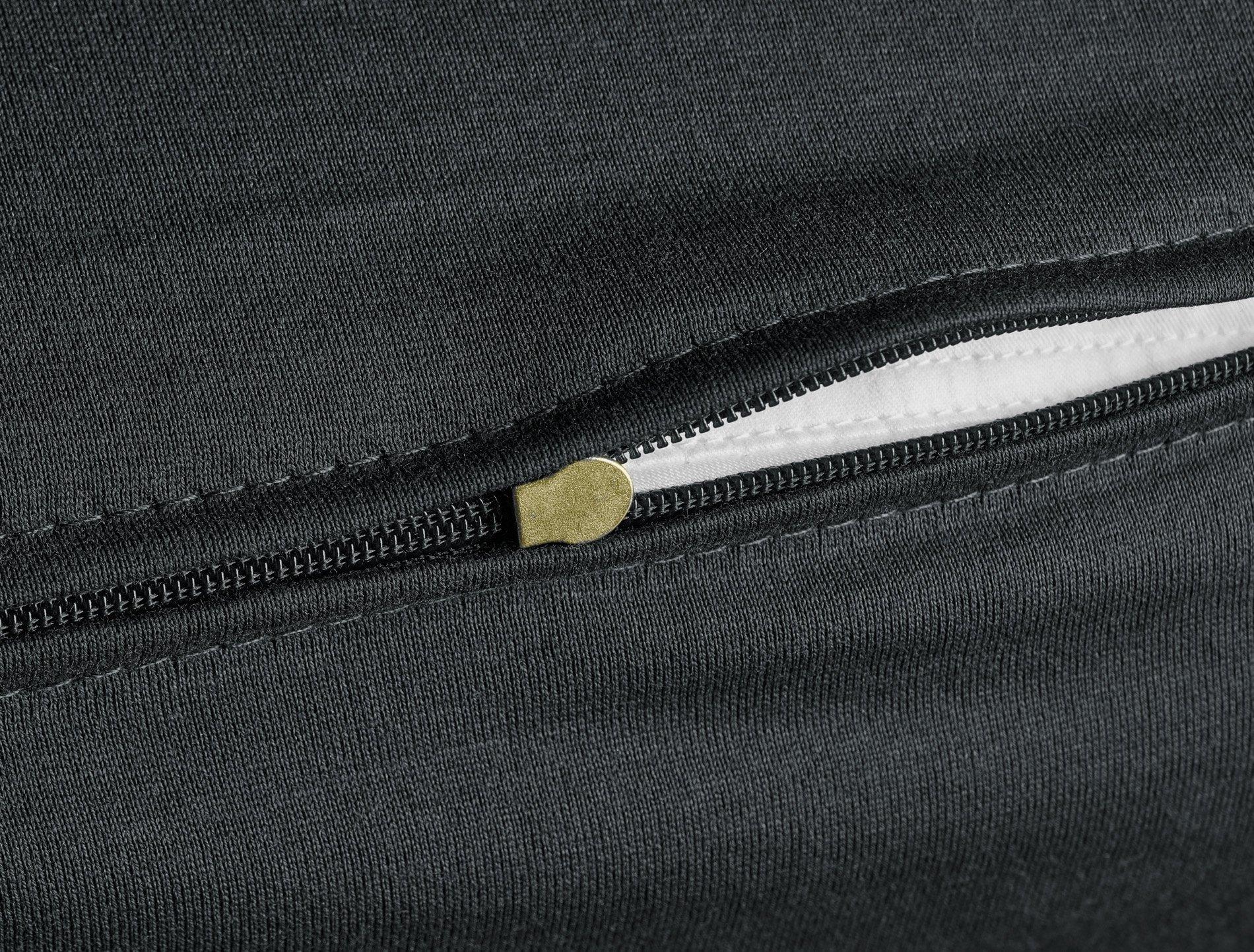 Edel-Zwirn-Jersey onyx B80cm