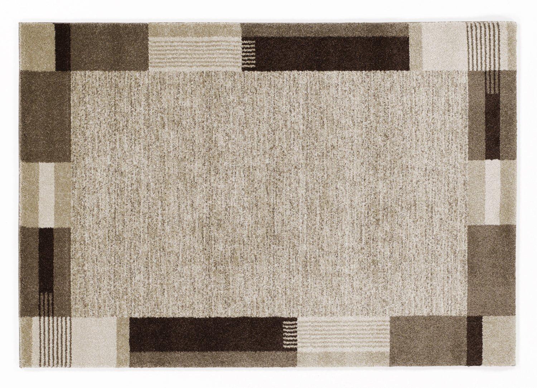moderner Designer Teppich VILLA MODA braun