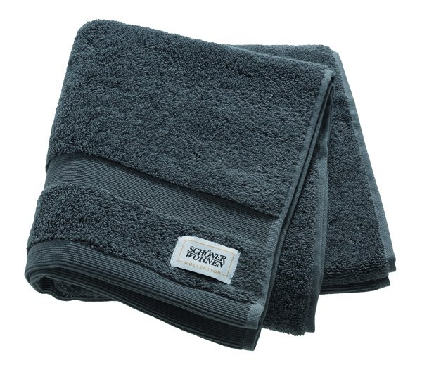 Handtuch, 50x100cm, Grau