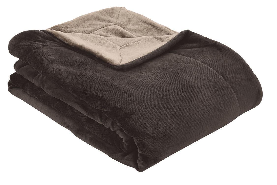 Double soft Decke s.Oliver Braun-Beige 150x200 cm