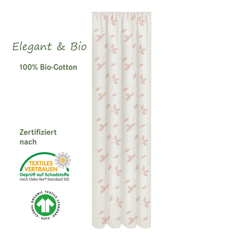Fertigschal altrosa aus 100% Bio-Baumwolle