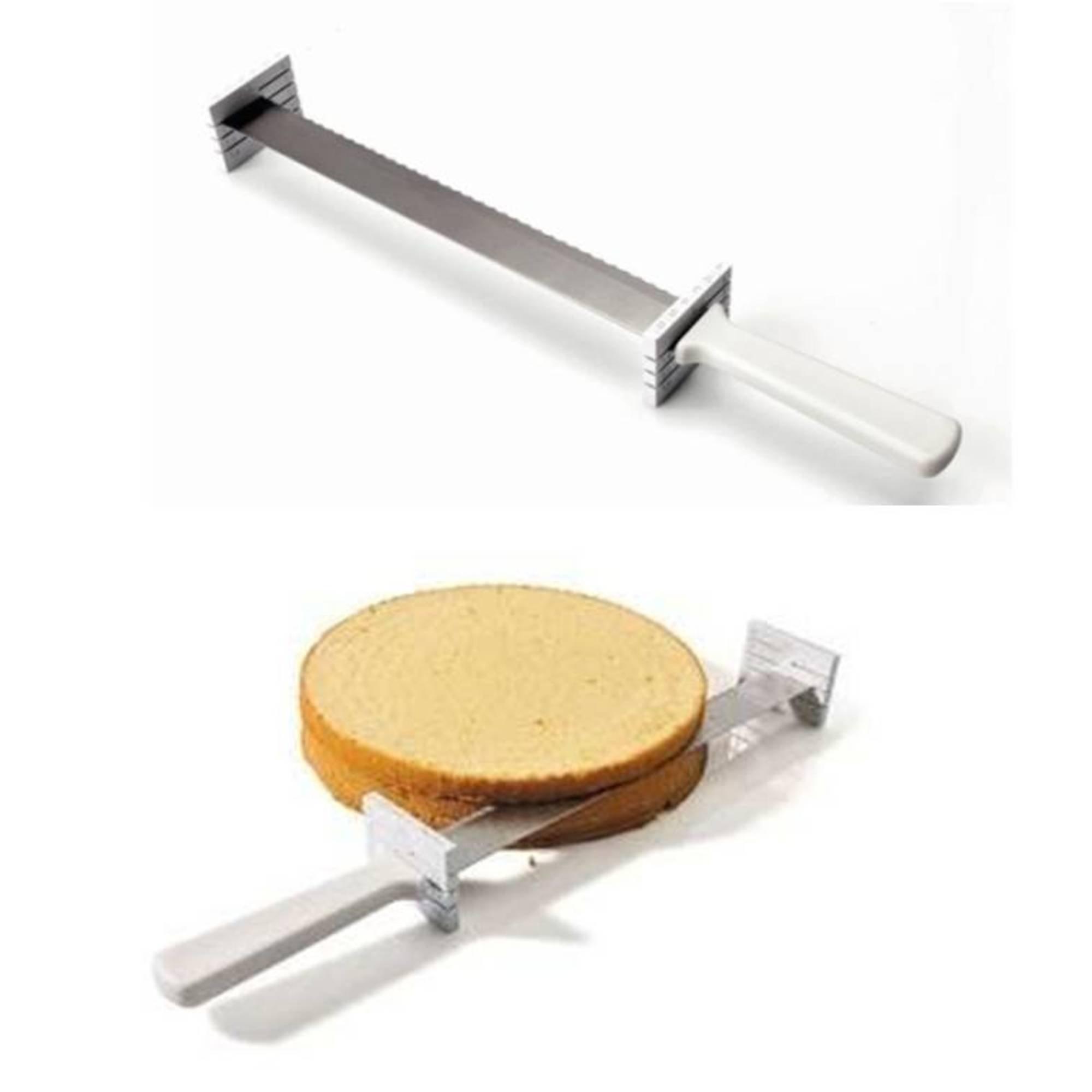Tortenbodenmesser mit Distanzhalter