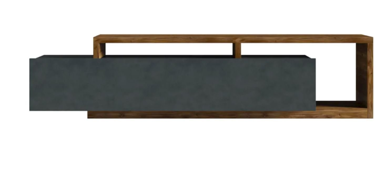 SB Lowboard Appenzeller fichtefarben, schwarz
