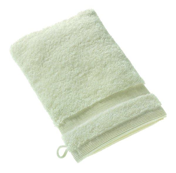 Waschhandschuh, 16x21cm, Weiß