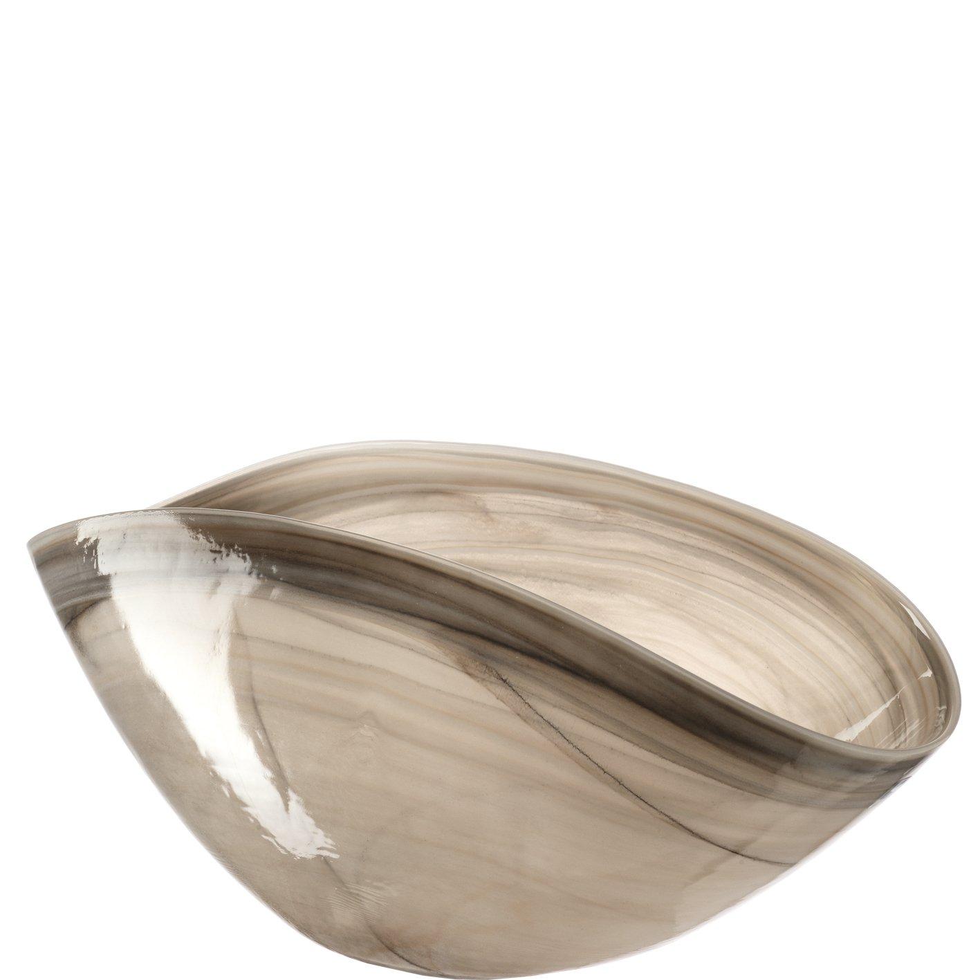 Schale 38x20 beige Alabastro ALABASTRO