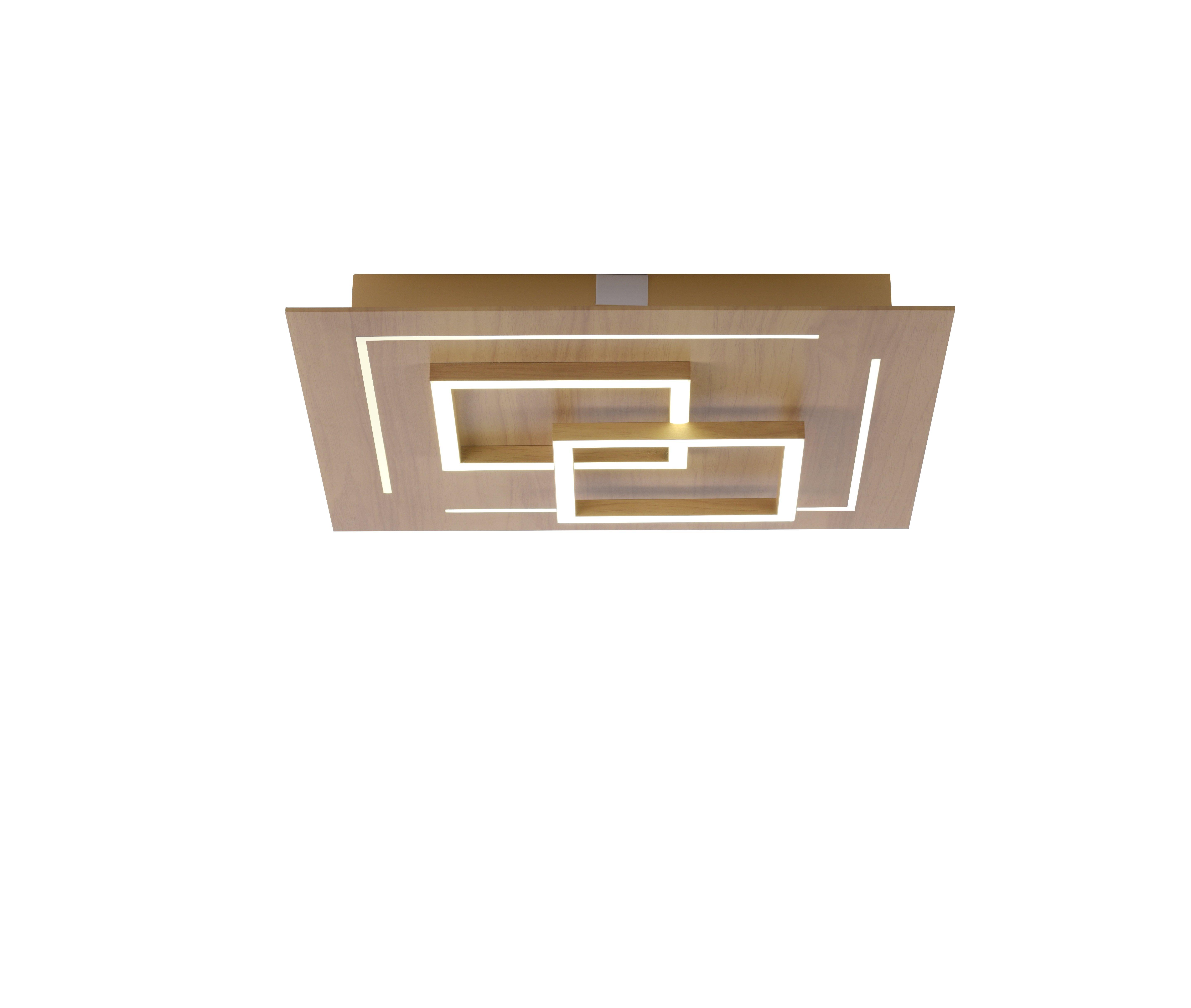 Deckenleuchte Q-LINEA Holzdekor