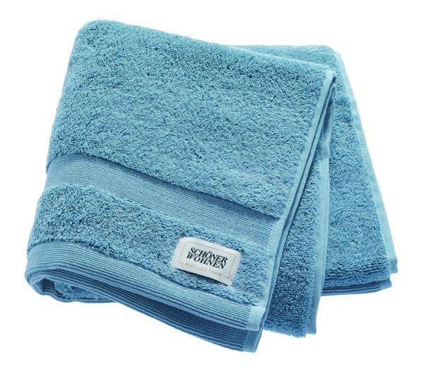 Handtuch, 50x100cm, Blau