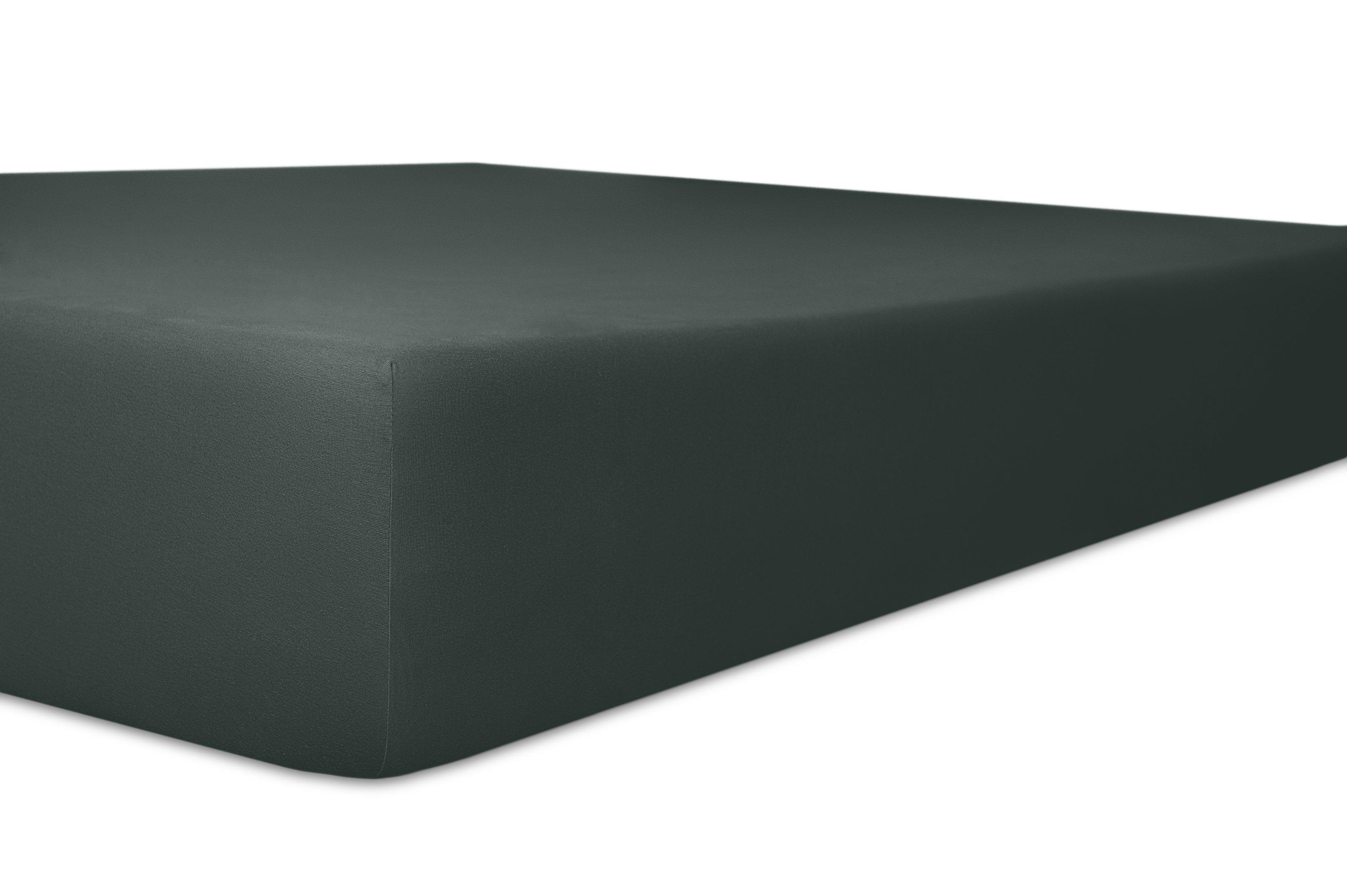 Spannbetttuch schwarz,180x200cm