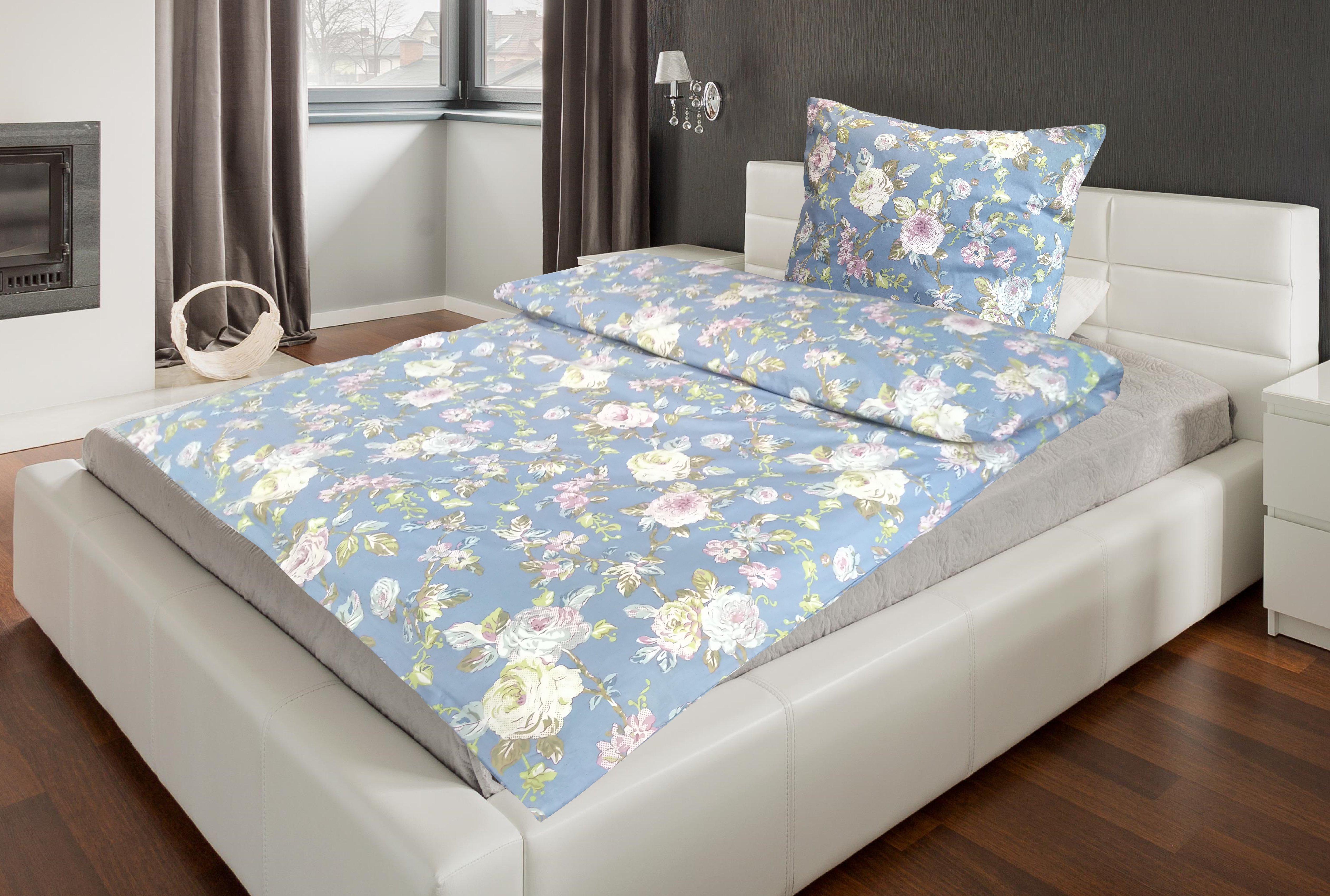 Bettwäsche Pippa 155x220cm, blau