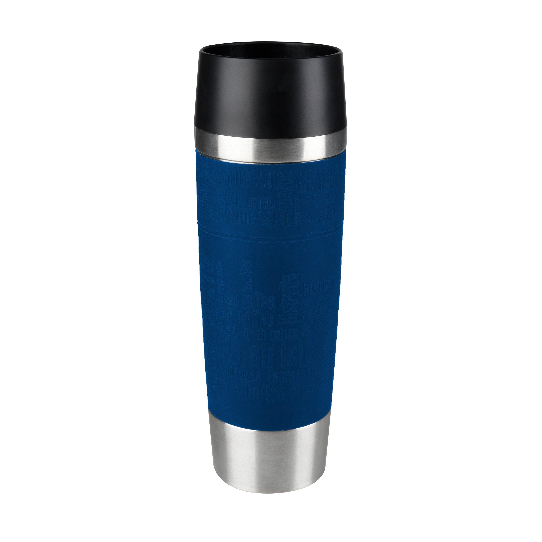 TRAVEL MUG Grande 0,5L Manschette blau Standard