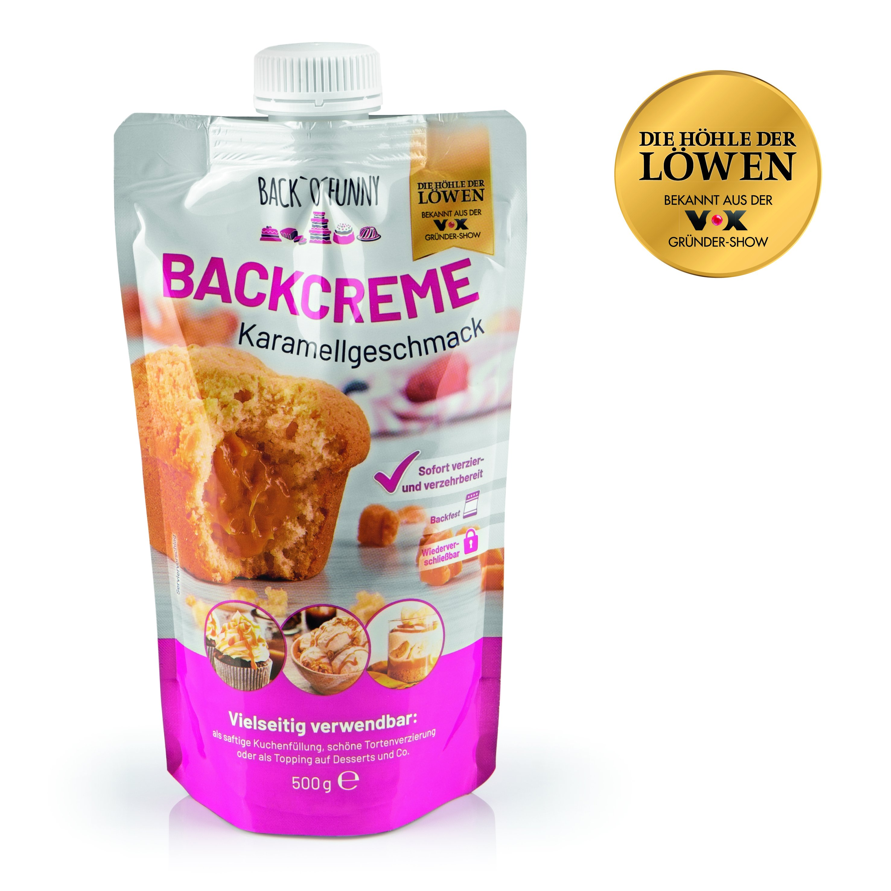 Back o Funny Backmischung Toffee 500g