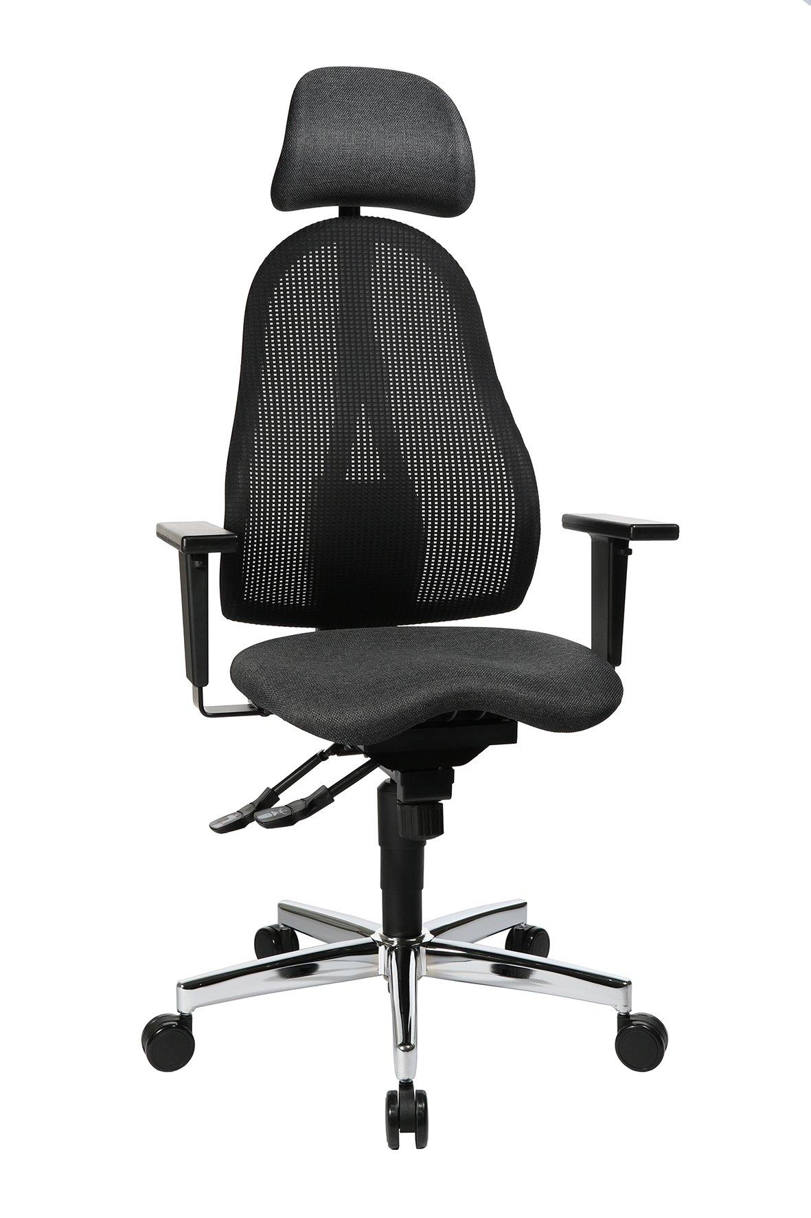 Drehstuhl Sitness Profi 650,schwarz / anthrazit,Stahl