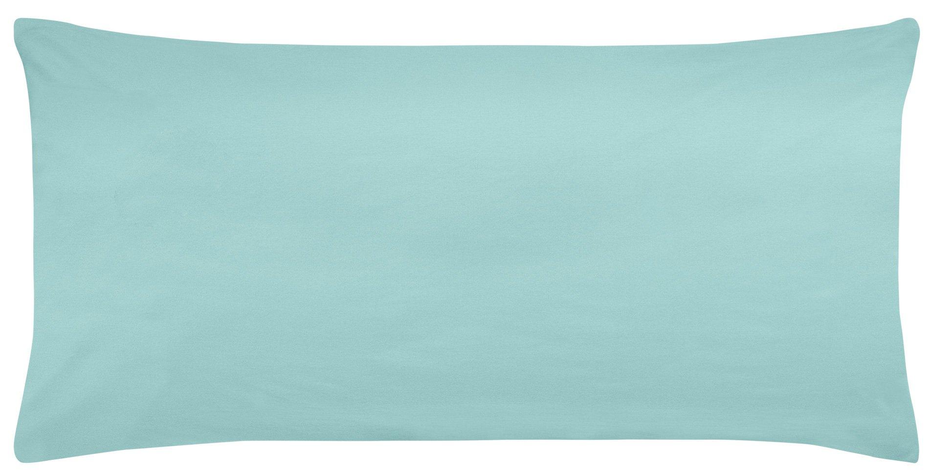 Edel-Zwirn-Jersey aqua B40cm