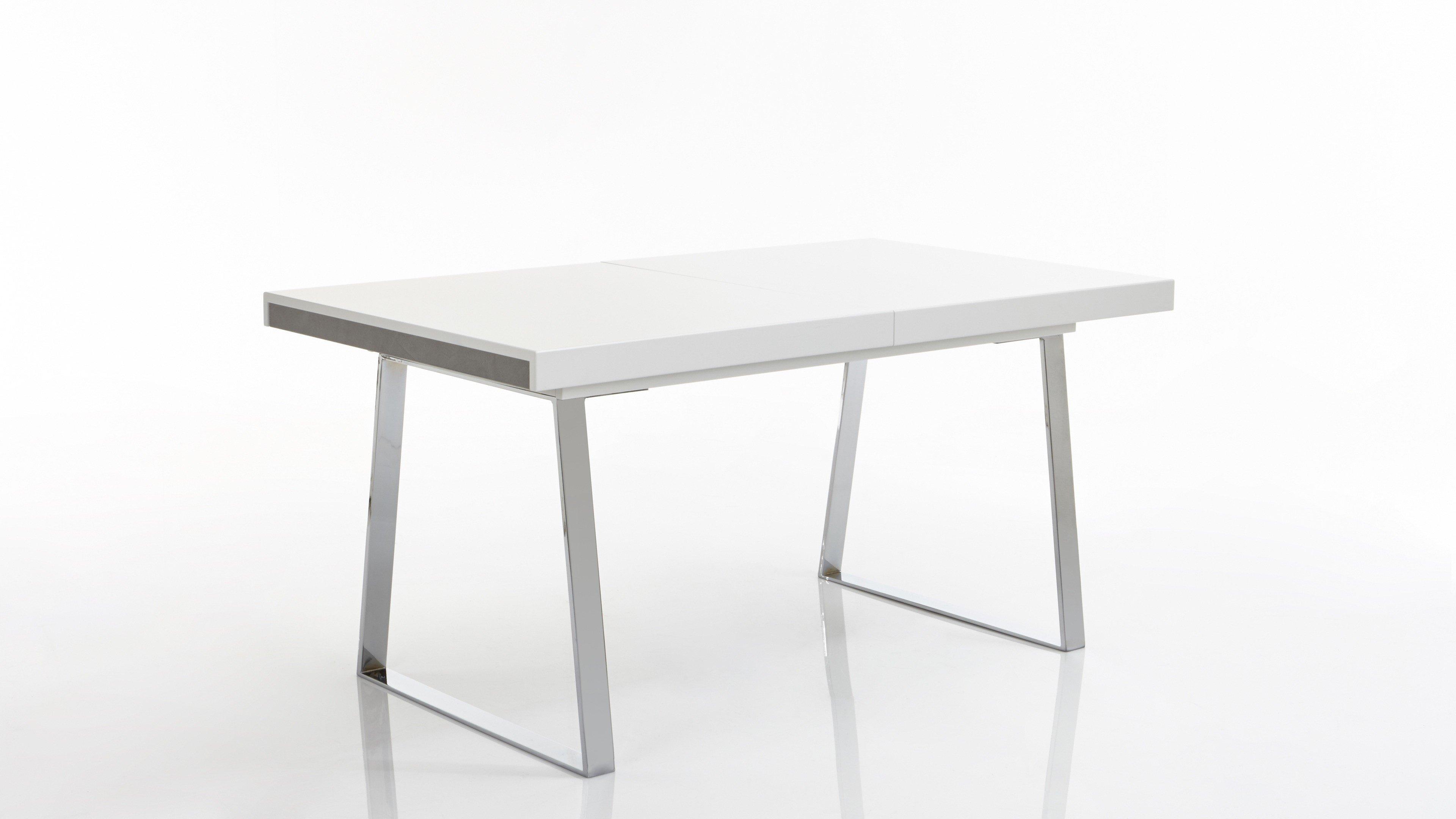 Esstisch V 8 018 - Weiß Mattlack