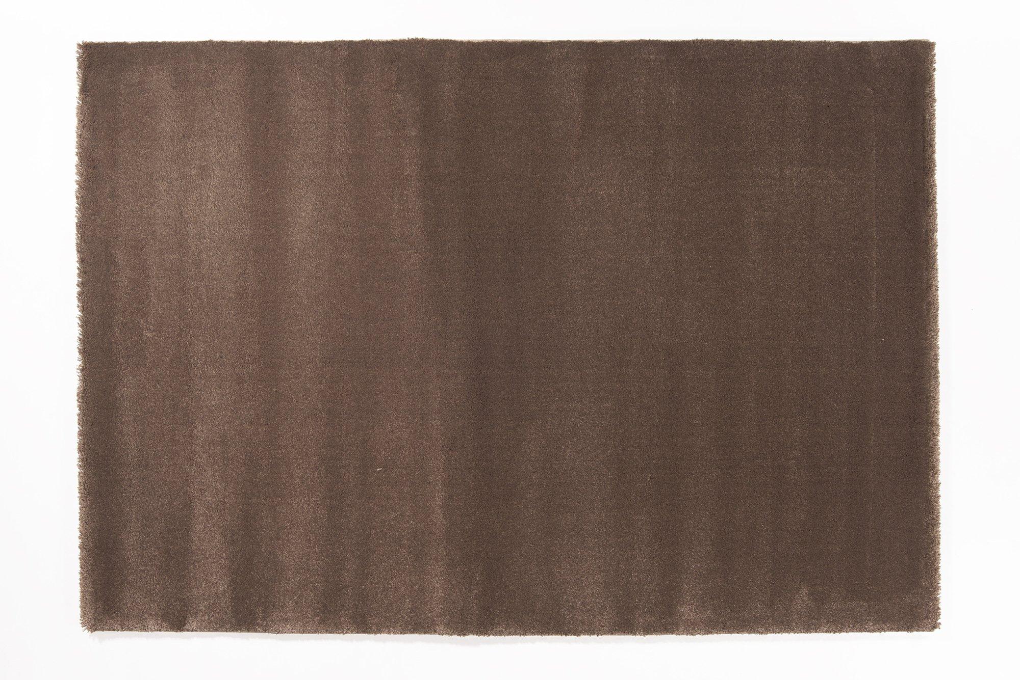 moderner Designer Teppich BELLEVUE braun