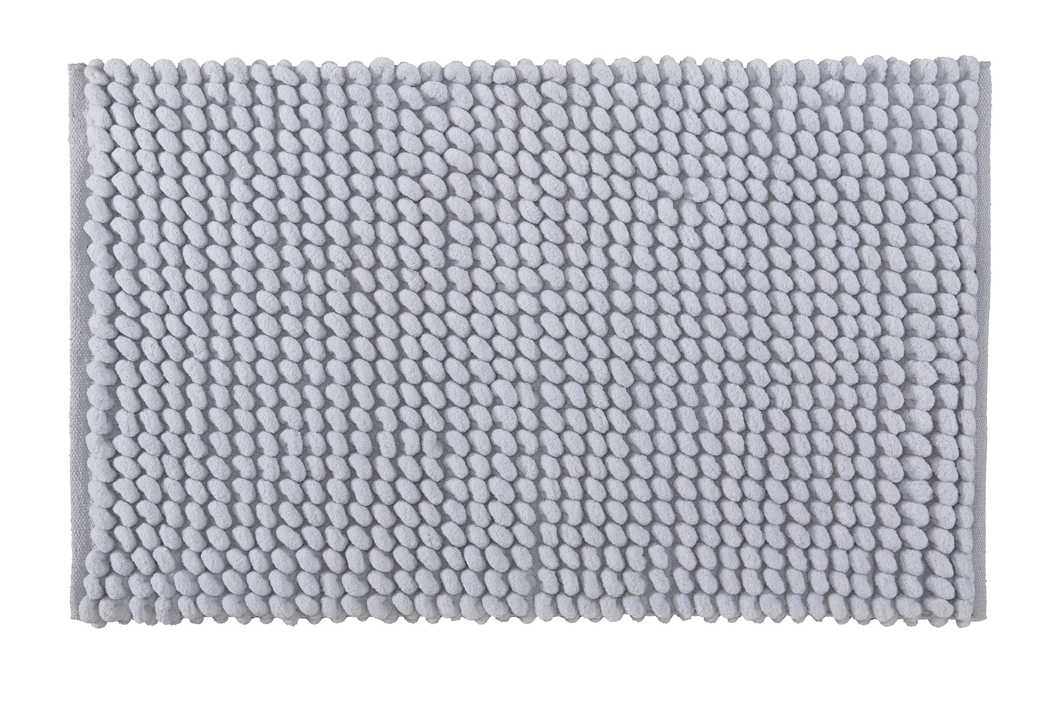 Badteppich Celine Silbergrau B:60cm