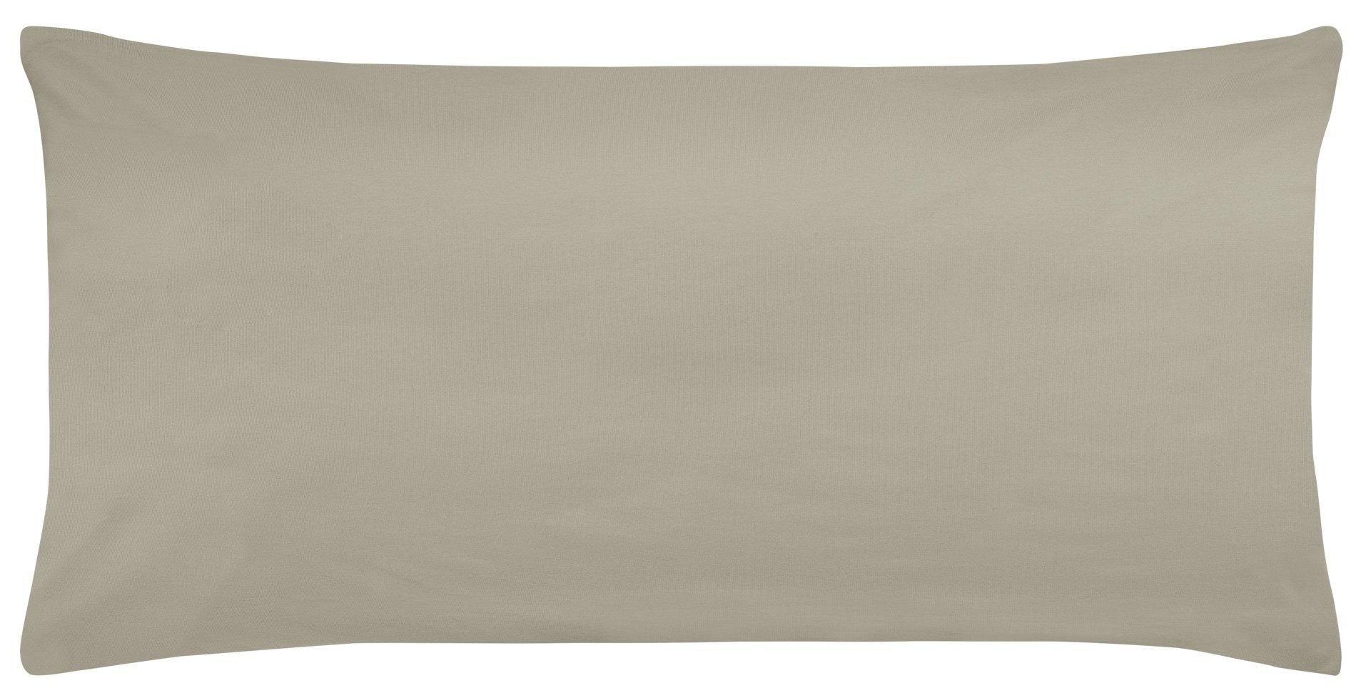 Edel-Zwirn-Jersey kiesel B40cm