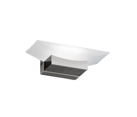 Wandleuchte Bowl, Metallfarben | Weiß