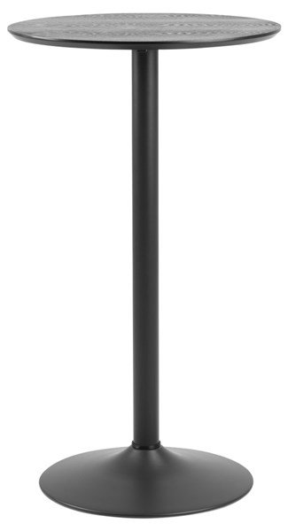 Ibiza Bartisch, matt schwarz,