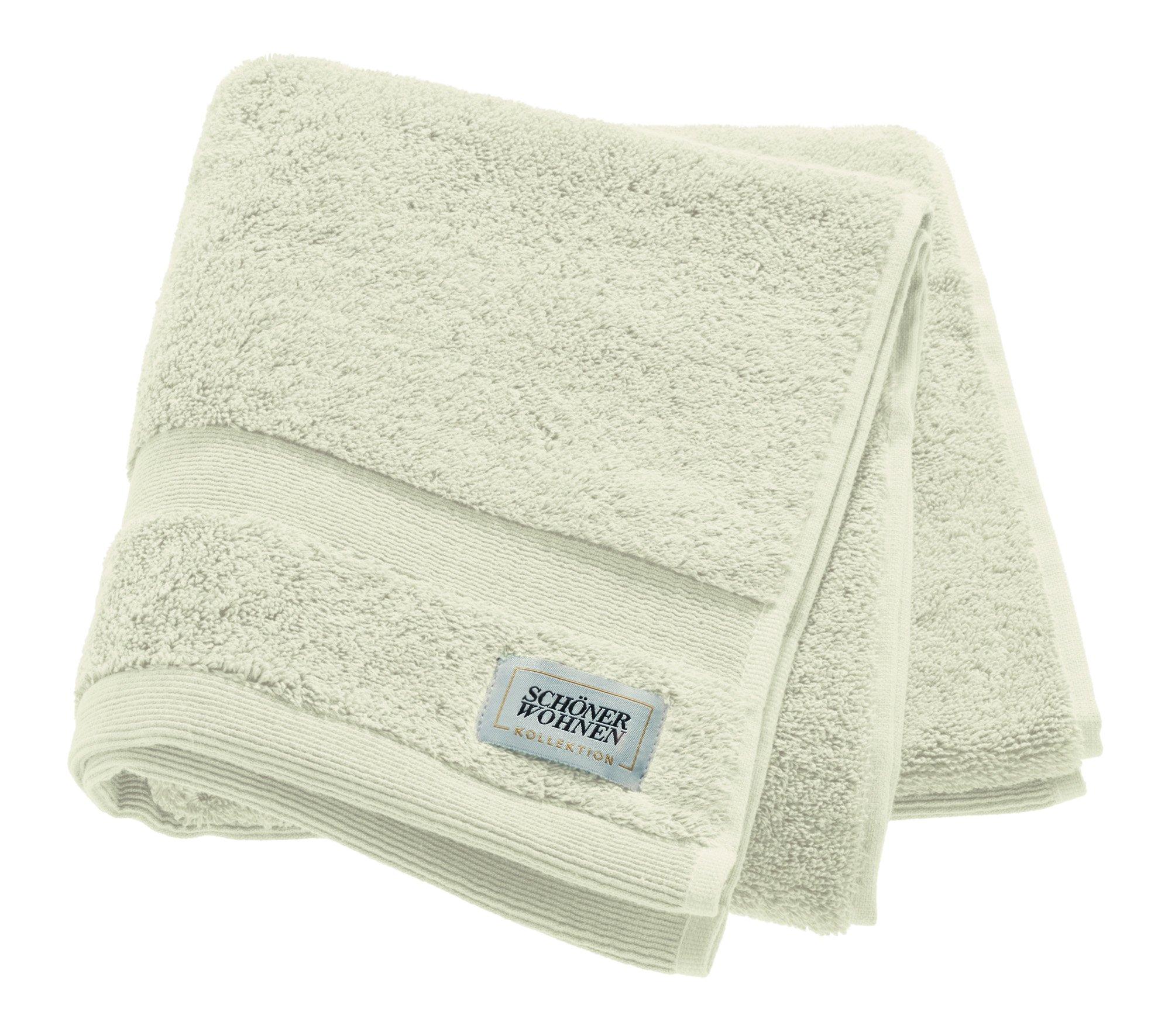Cuddly Handtuch 50x100cm,offwhite