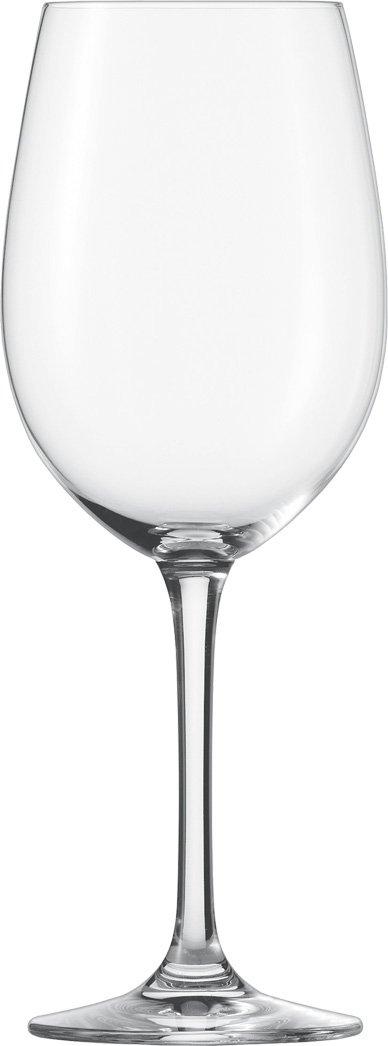 Bordeauxglas klar