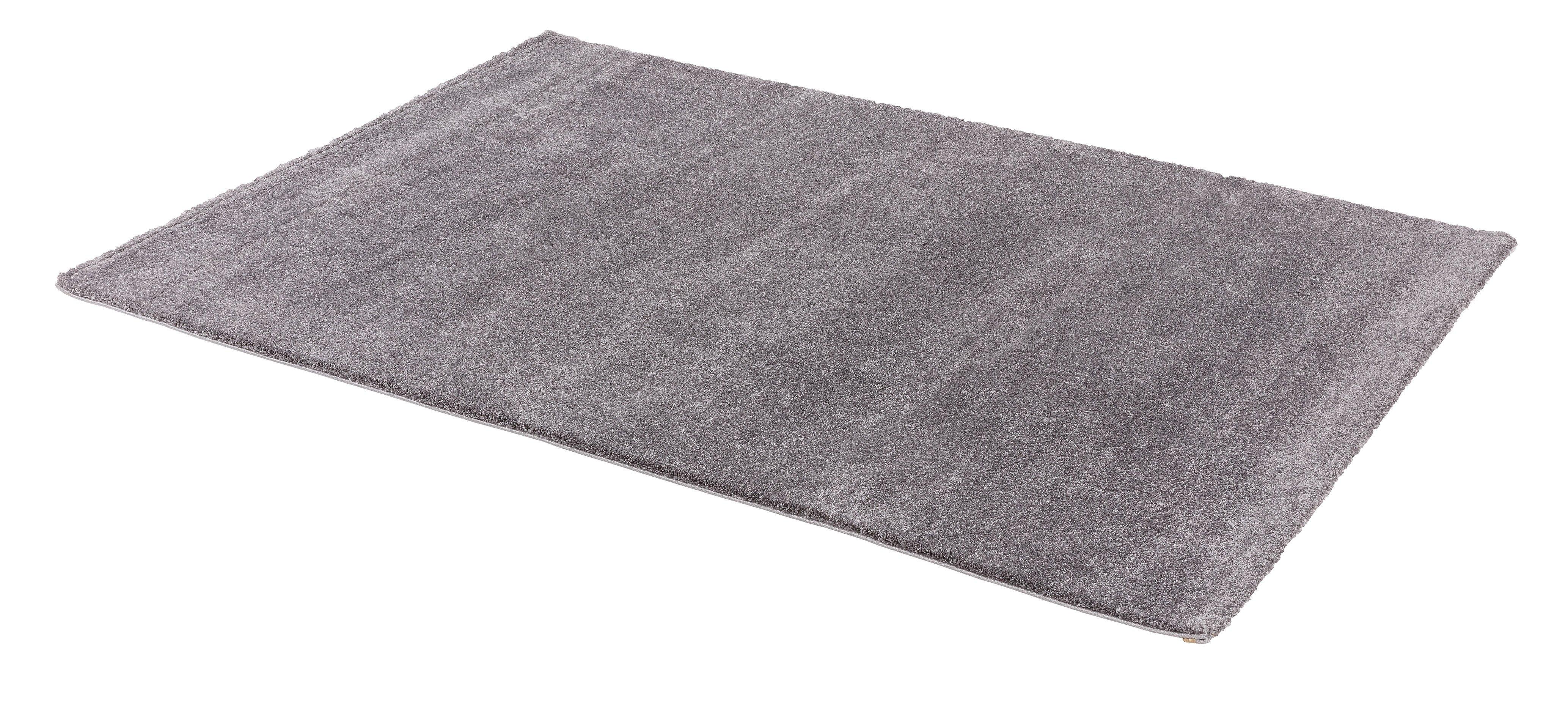 Webteppich Savona 67x130 cm silber