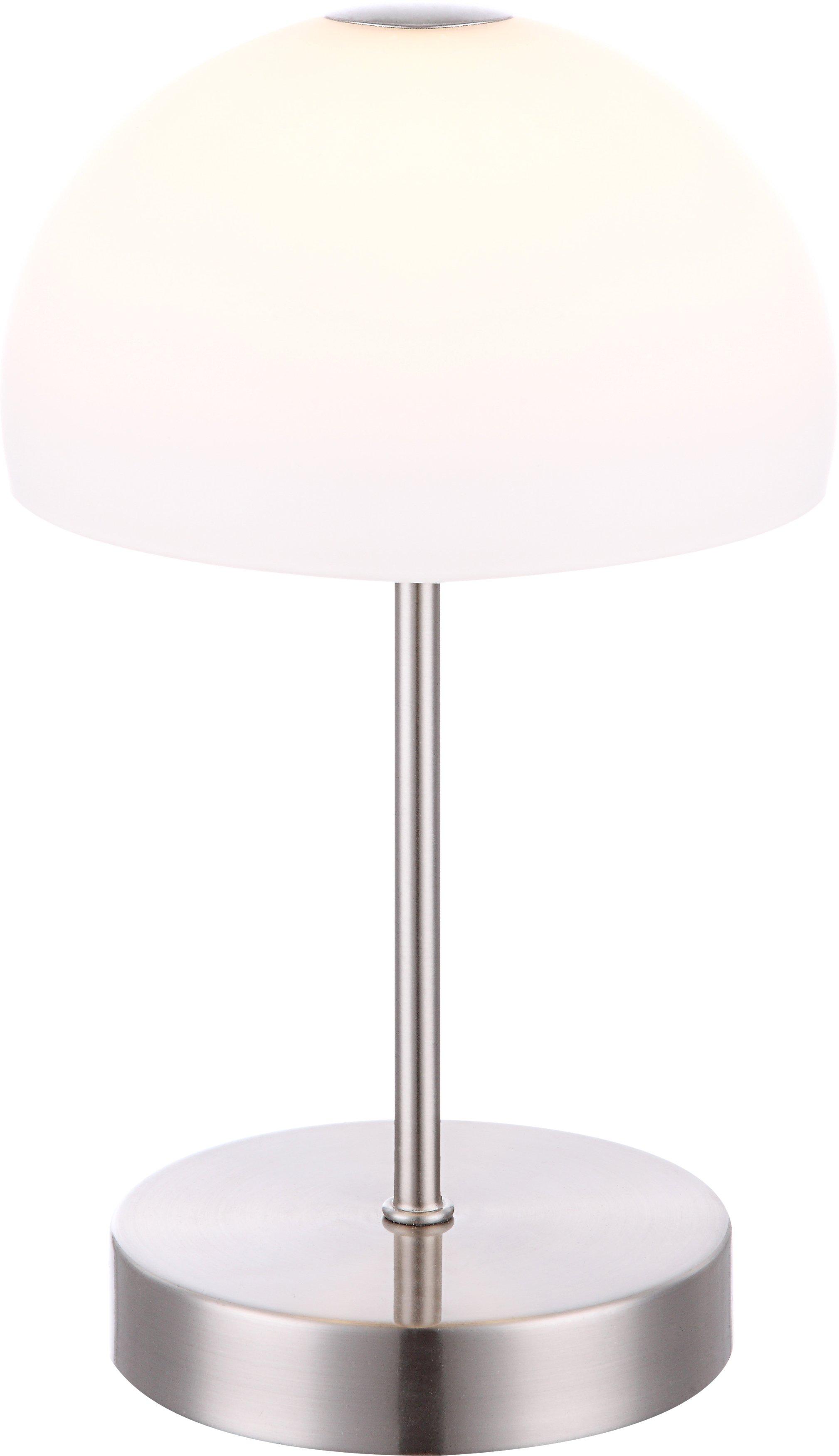Tischleuchte H27 D15_Metall, Weiß