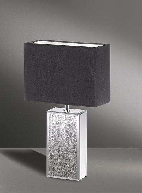 Tischleuchte Bert, Grau | Schwarz