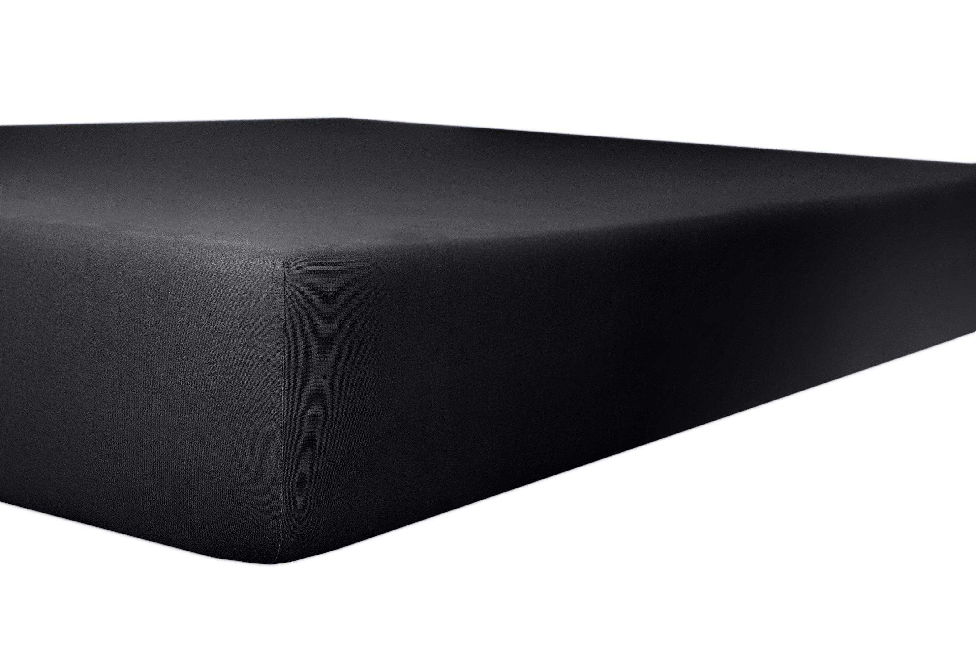 Spannbetttuch onyx,180x200cm