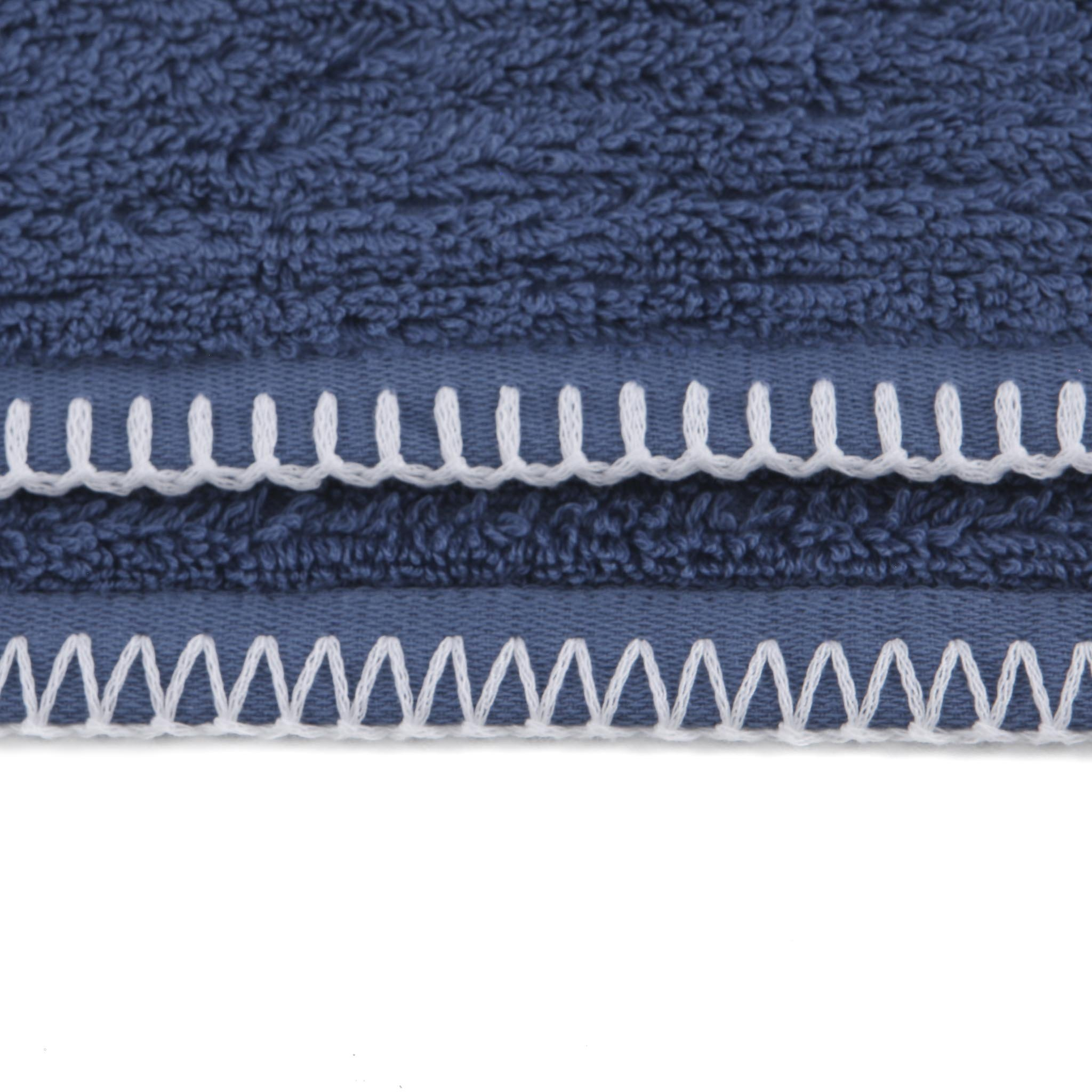 Badetuch Bamboo 70x140cm Jeans Blue