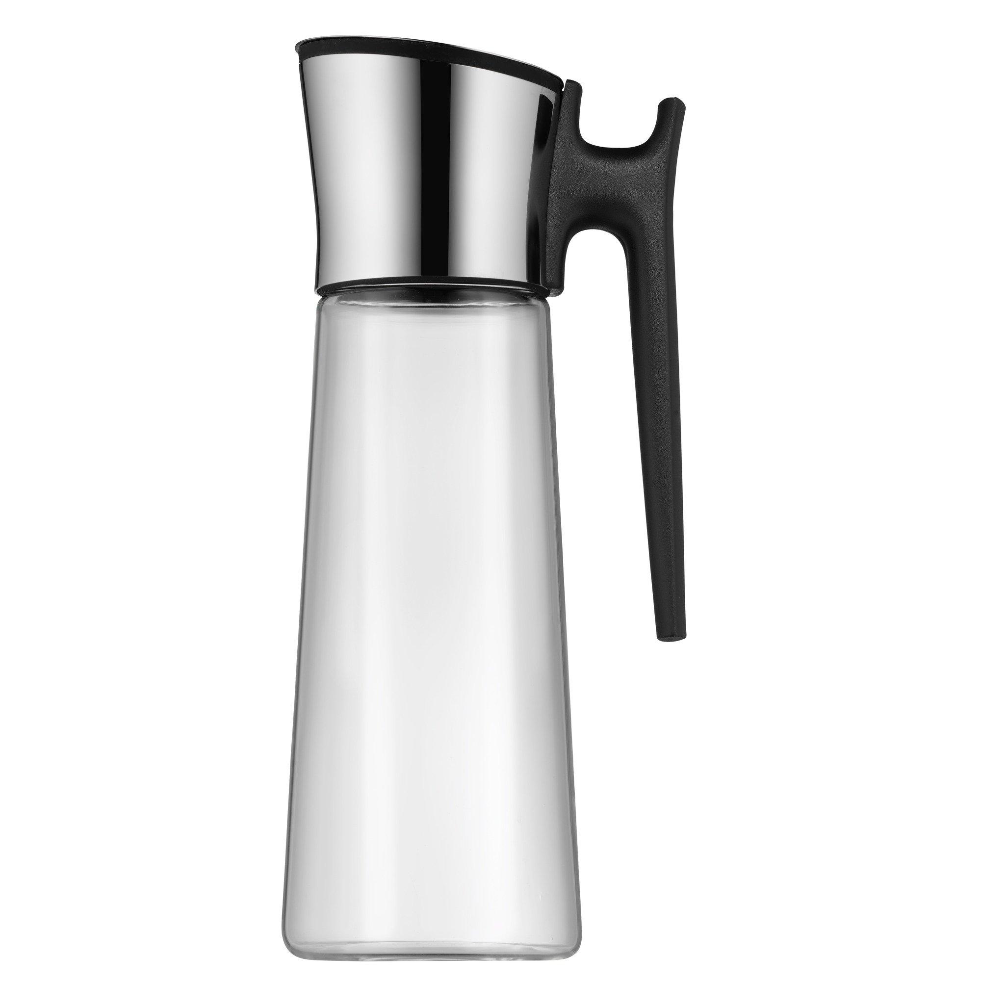 Wasserkaraffe mit Griff 1,5 l schwarz Basic