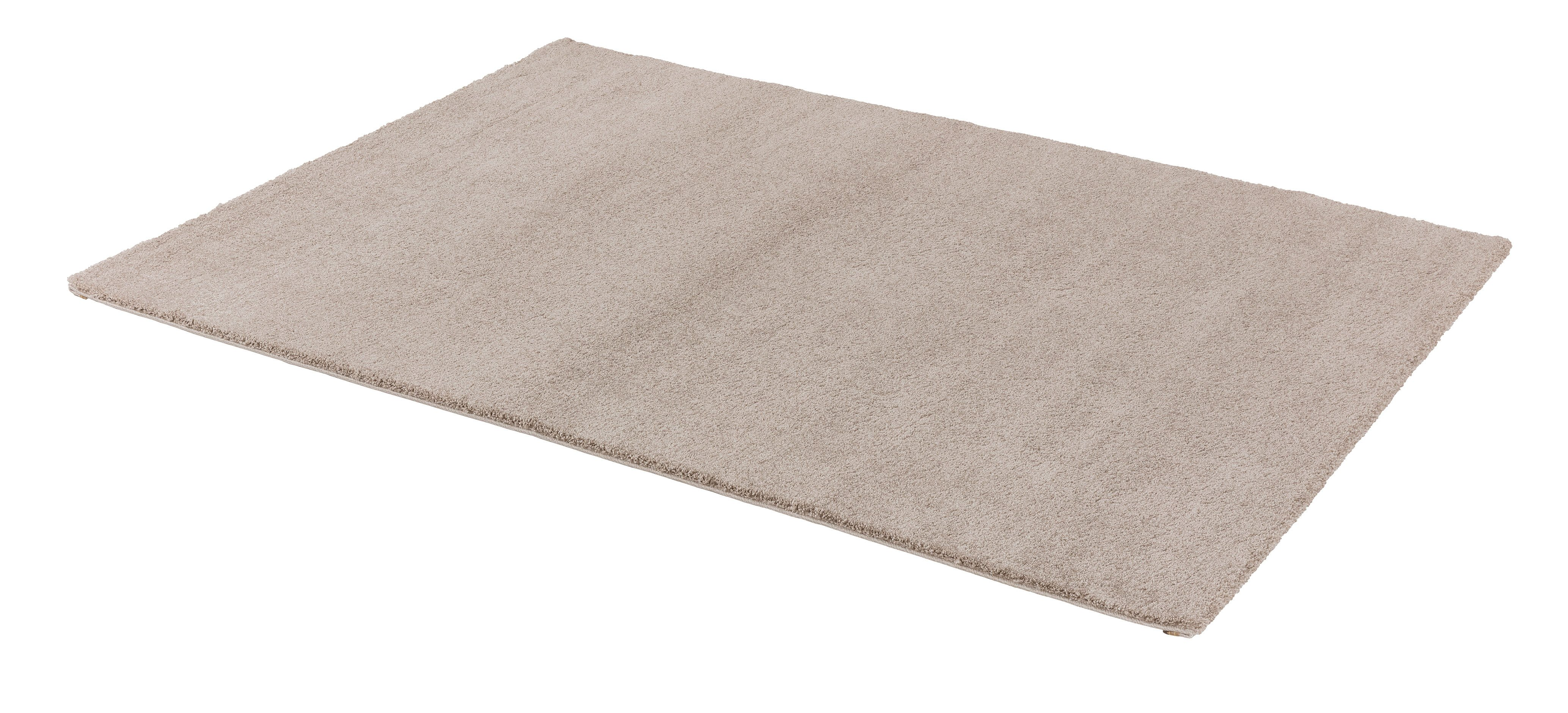 Webteppich Savona 67x130 cm beige