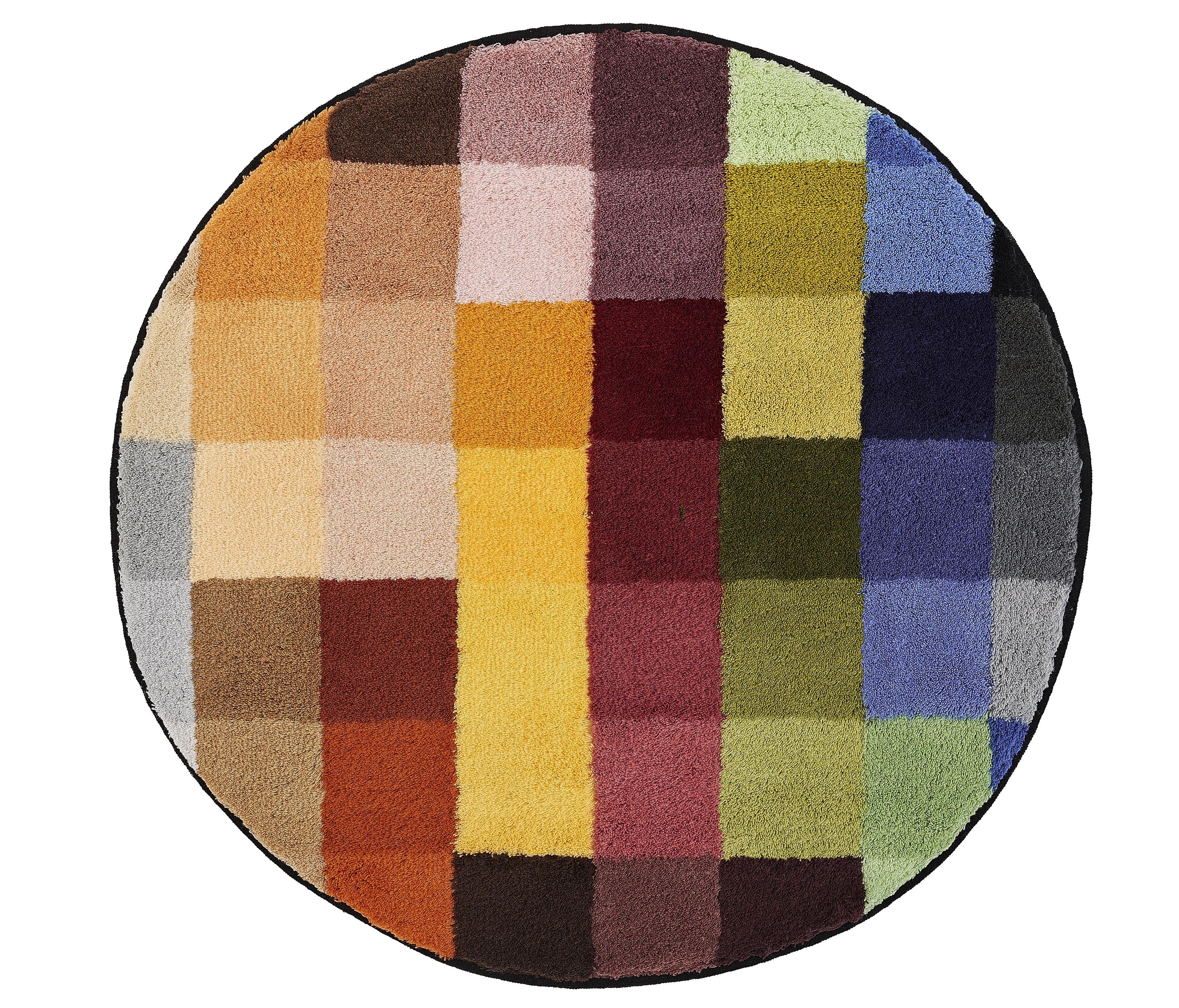 Badteppich Cubetto Multicolor B:90cm
