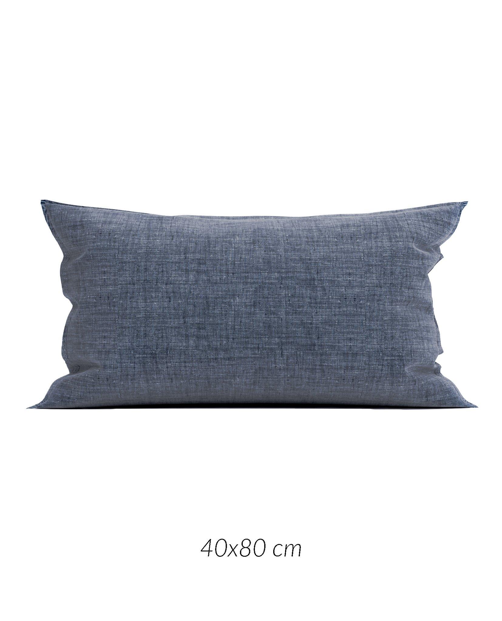 Lino K.-Hülle 40x80cm Urban Blue