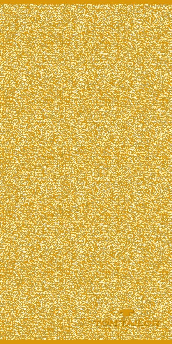 Tom Tailor Handtuch 50x100cm mustard