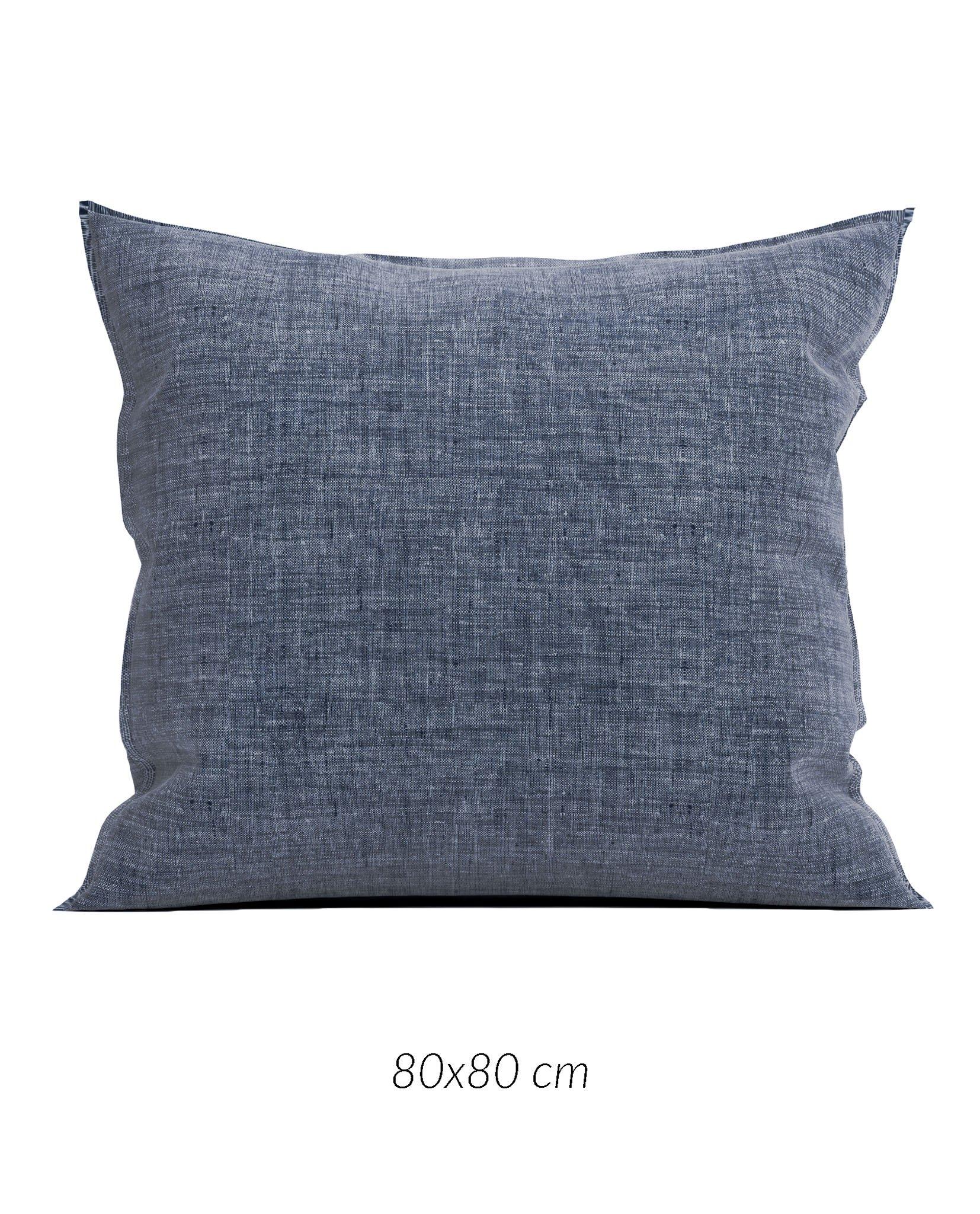 Lino K.-Hülle 80x80cm Urban Blue